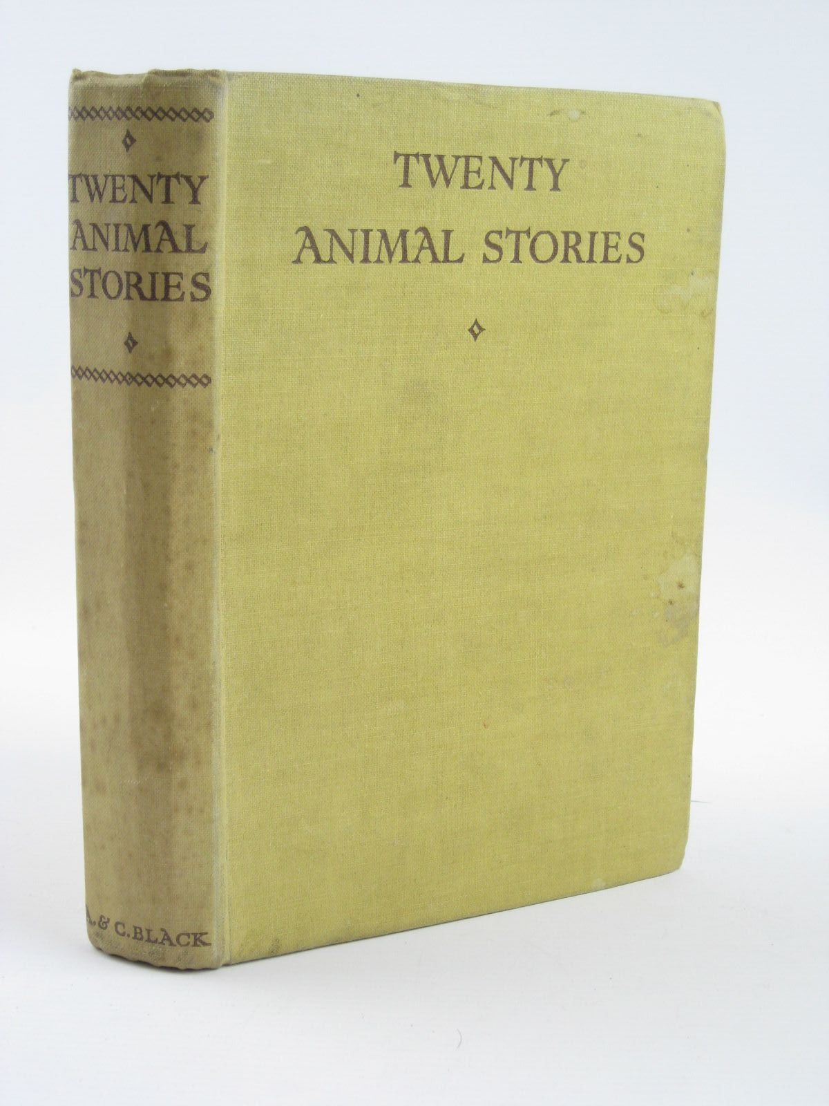 Photo of TWENTY ANIMAL STORIES written by Barker, K.F.<br />Baker, Peter Shaw<br />Sewell, Anna<br />et al,  published by A. & C. Black Ltd. (STOCK CODE: 1401701)  for sale by Stella & Rose's Books