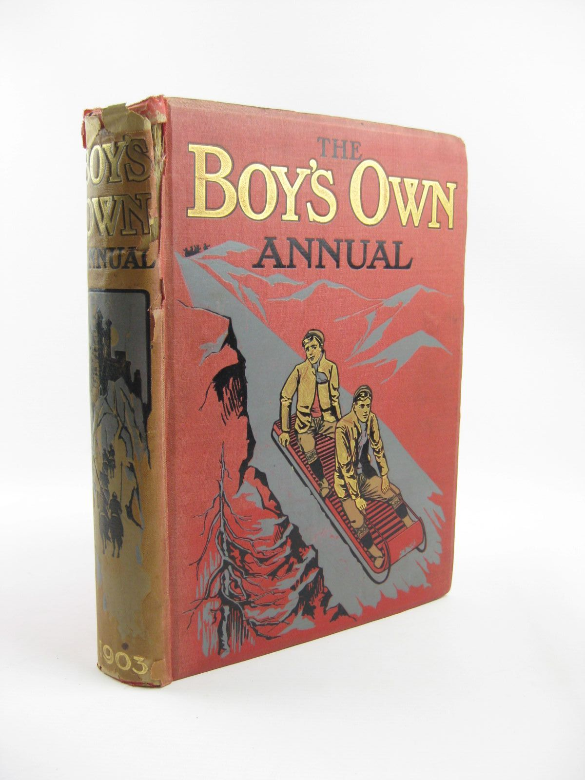 Photo of THE BOY'S OWN ANNUAL 1903 written by Fenn, George Manville<br />et al,  illustrated by Wain, Louis<br />Aldin, Cecil published by The Boy's Own Paper (STOCK CODE: 1401705)  for sale by Stella & Rose's Books