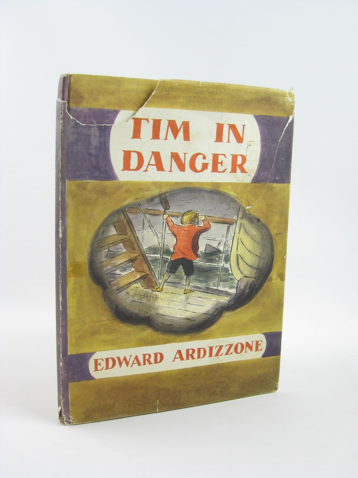 Photo of TIM IN DANGER written by Ardizzone, Edward illustrated by Ardizzone, Edward published by Oxford University Press (STOCK CODE: 1401716)  for sale by Stella & Rose's Books