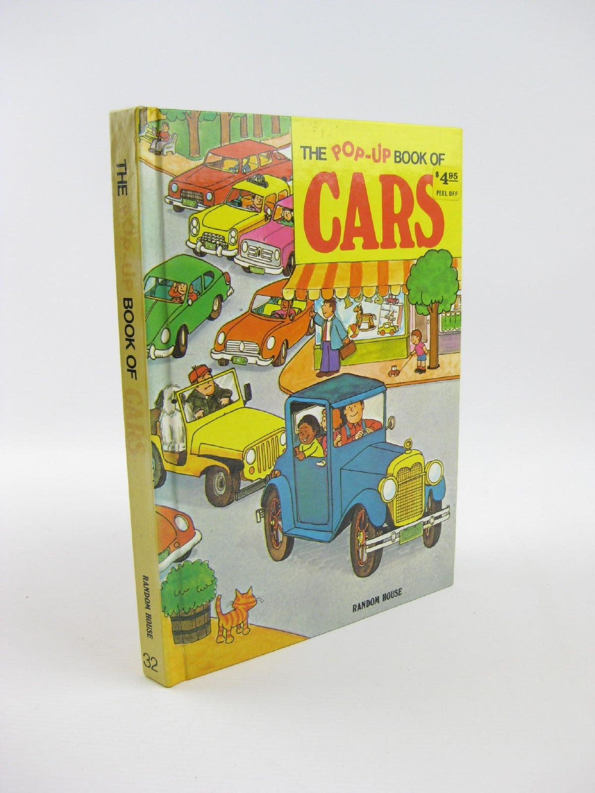 Photo of THE POP-UP BOOK OF CARS