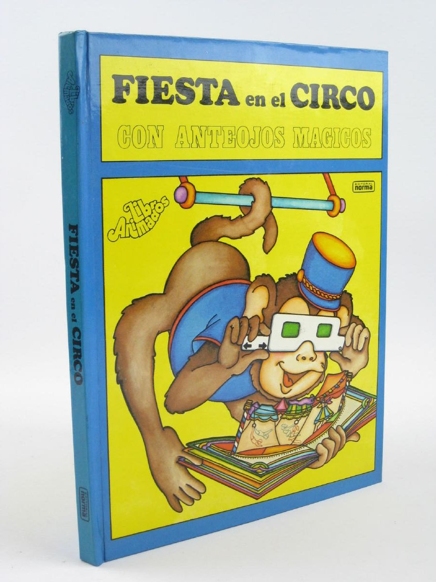 Photo of FIESTA EN EL CIRCO CON ANTEOJOS MAGICOS written by Shapiro, Arnold illustrated by Andrus, Carroll published by Editorial Norma (STOCK CODE: 1401844)  for sale by Stella & Rose's Books