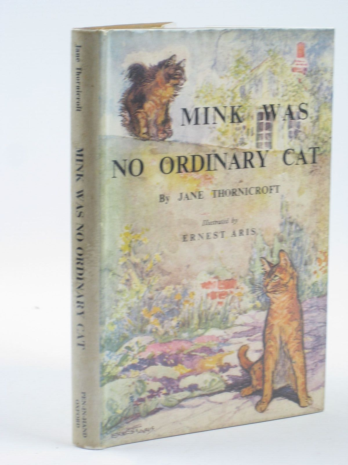 Photo of MINK WAS NO ORDINARY CAT written by Thornicroft, Jane illustrated by Aris, Ernest A. published by Pen-In-Hand Publishing Co. Ltd. (STOCK CODE: 1401985)  for sale by Stella & Rose's Books