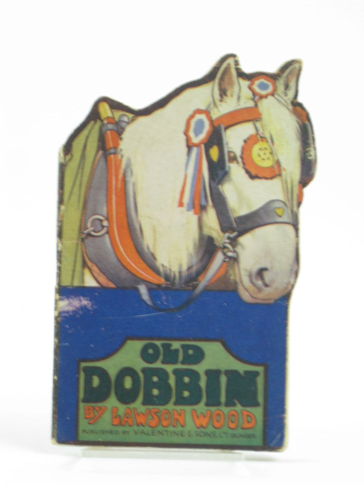 Photo of OLD DOBBIN written by Wood, Lawson illustrated by Wood, Lawson published by Valentine & Sons Ltd. (STOCK CODE: 1401991)  for sale by Stella & Rose's Books