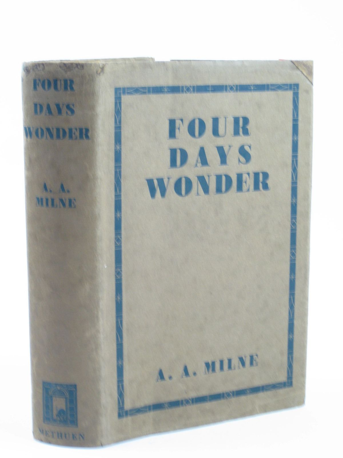 Photo of FOUR DAYS WONDER written by Milne, A.A. published by Methuen & Co. Ltd. (STOCK CODE: 1402000)  for sale by Stella & Rose's Books