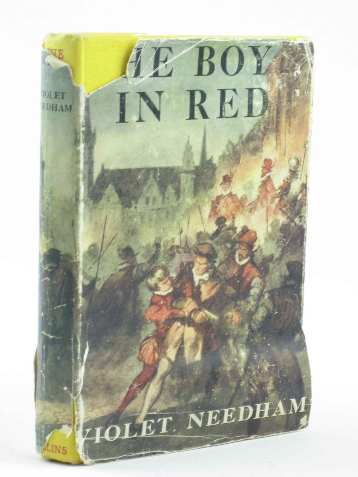 Photo of THE BOY IN RED written by Needham, Violet illustrated by Bruce, Joyce published by Collins (STOCK CODE: 1402062)  for sale by Stella & Rose's Books