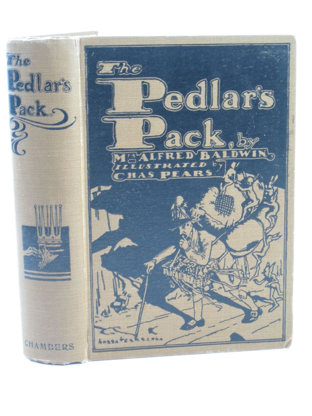 Photo of THE PEDLAR'S PACK written by Baldwin, Mrs. Alfred illustrated by Pears, Charles published by W. & R. Chambers Limited (STOCK CODE: 1402073)  for sale by Stella & Rose's Books