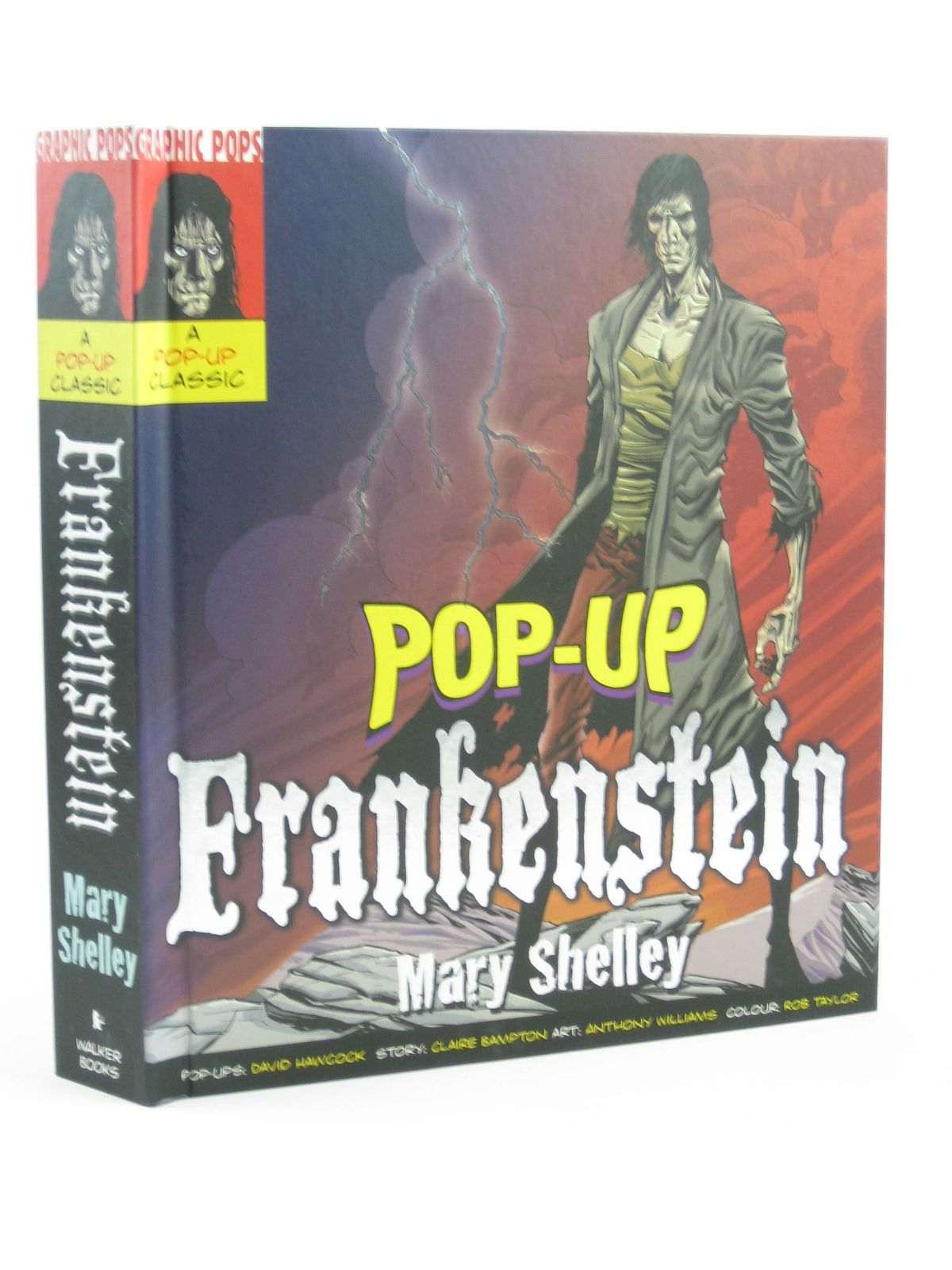 Photo of POP-UP FRANKENSTEIN written by Shelley, Mary<br />Bampton, Claire illustrated by Williams, Anthony published by Walker Books (STOCK CODE: 1402107)  for sale by Stella & Rose's Books