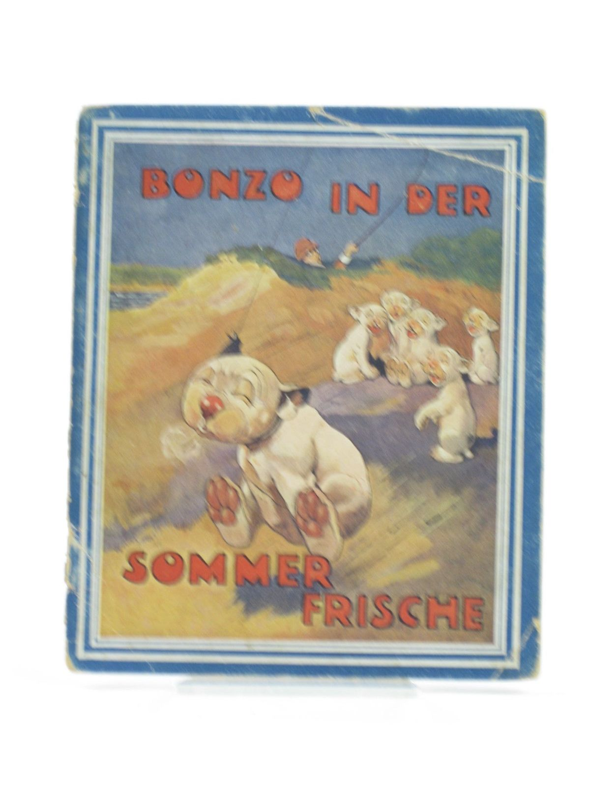 Photo of BONZO IN DER SOMMERFRISCHE written by Studdy, G.E.<br />Jellicoe, George illustrated by Studdy, G.E. published by Artur Wolf (STOCK CODE: 1402136)  for sale by Stella & Rose's Books