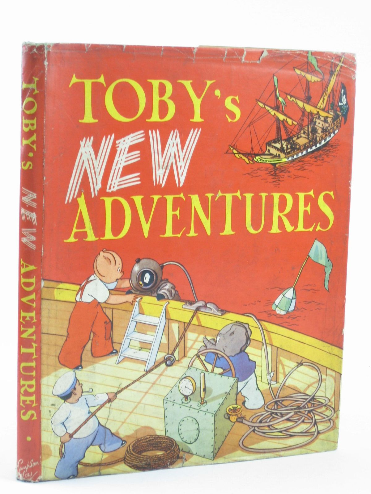 Photo of TOBY'S NEW ADVENTURES written by Hodgetts, Sheila illustrated by Jeffrey, E. published by Sampson Low (STOCK CODE: 1402146)  for sale by Stella & Rose's Books