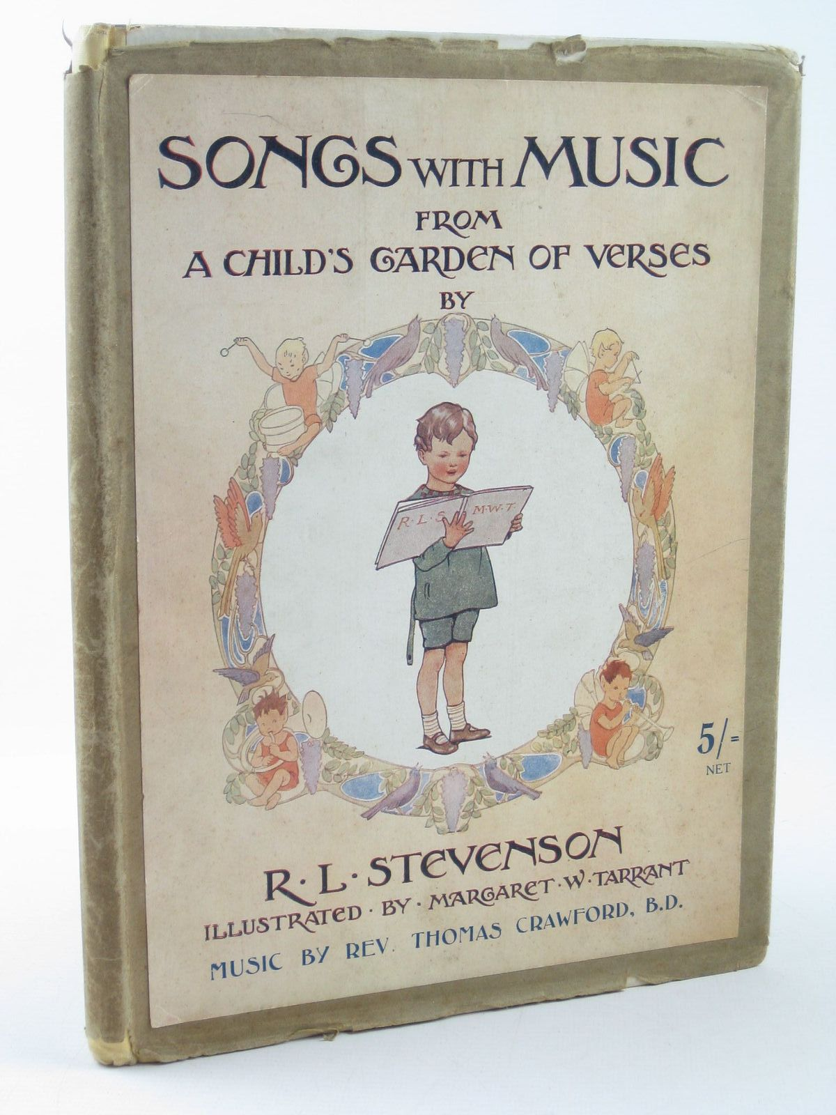 Photo of SONGS WITH MUSIC FROM A CHILD'S GARDEN OF VERSES- Stock Number: 1402266
