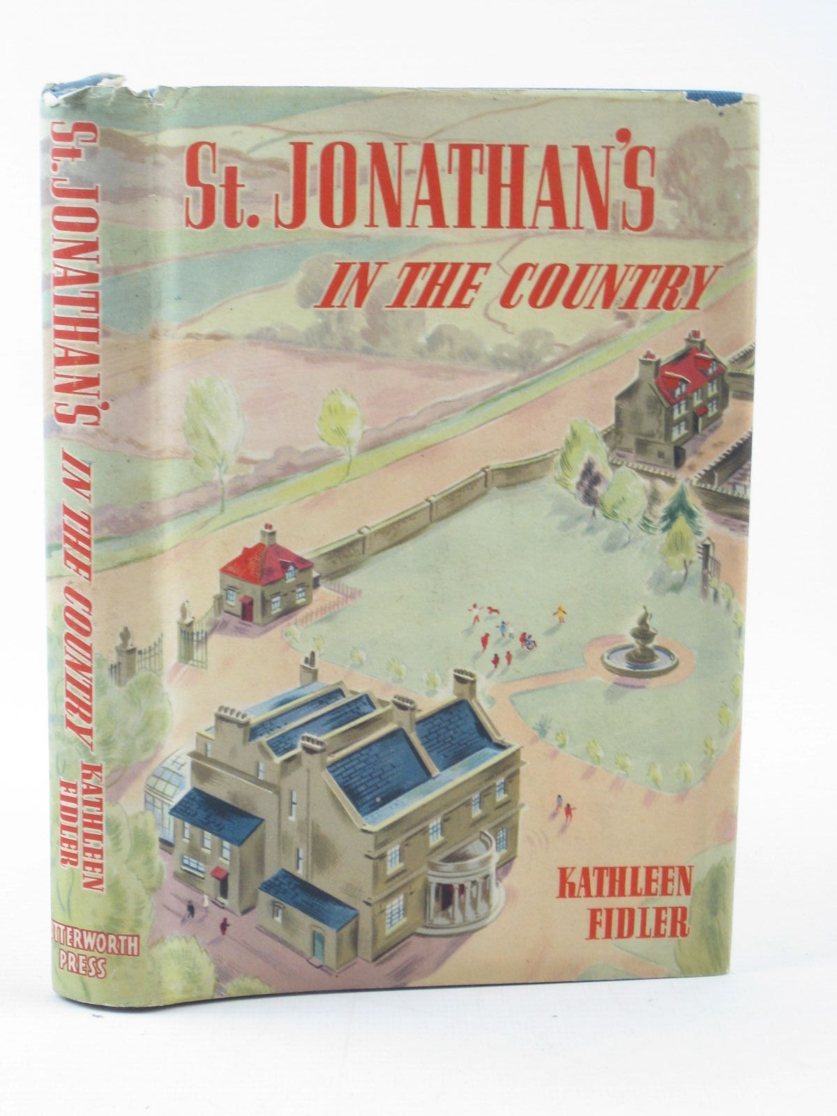 Photo of ST. JONATHAN'S IN THE COUNTRY written by Fidler, Kathleen illustrated by Koolman, Charles published by Lutterworth Press (STOCK CODE: 1402297)  for sale by Stella & Rose's Books