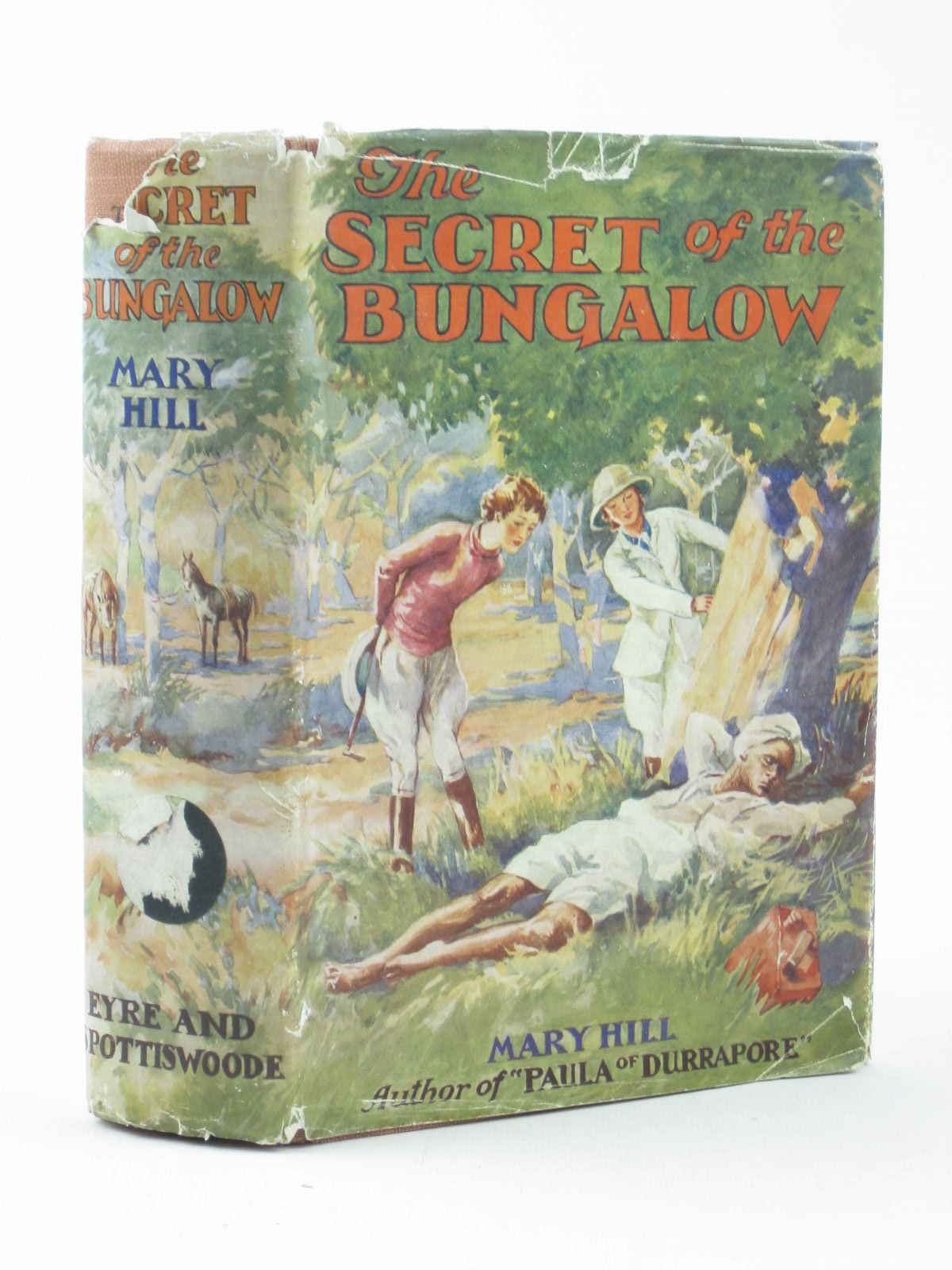 Photo of THE SECRET OF THE BUNGALOW written by Hill, Mary illustrated by Wilson, H. Radcliffe published by Eyre & Spottiswoode (STOCK CODE: 1402301)  for sale by Stella & Rose's Books