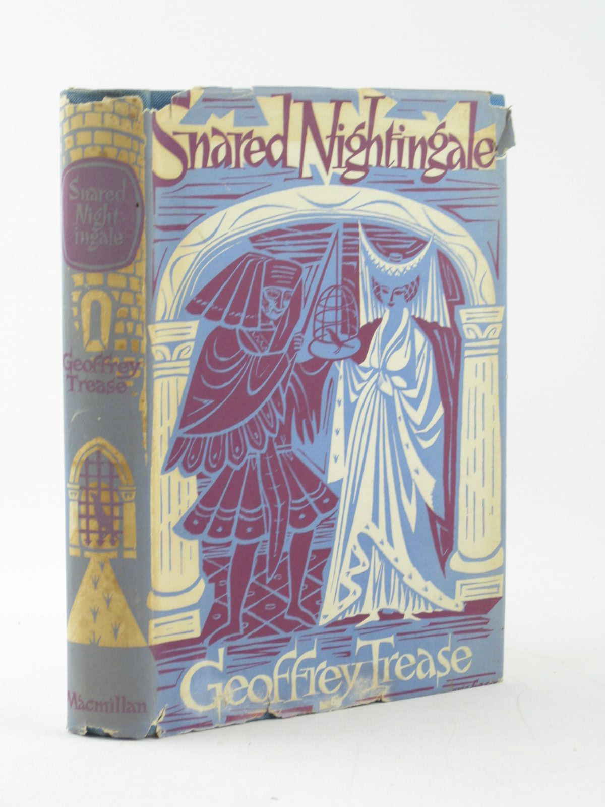 Photo of SNARED NIGHTINGALE written by Trease, Geoffrey published by Macmillan & Co. Ltd. (STOCK CODE: 1402303)  for sale by Stella & Rose's Books