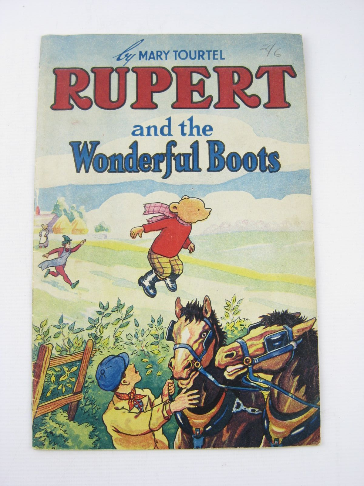 Photo of RUPERT AND THE WONDERFUL BOOTS written by Tourtel, Mary illustrated by Tourtel, Mary published by Sampson Low, Marston & Co. Ltd. (STOCK CODE: 1402306)  for sale by Stella & Rose's Books