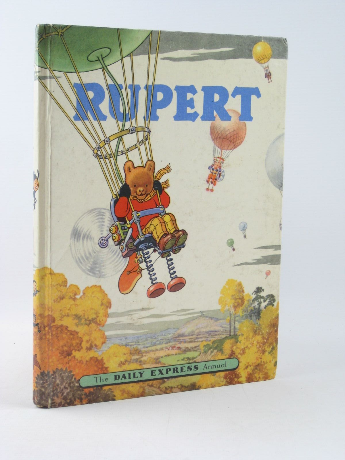 Photo of RUPERT ANNUAL 1957 written by Bestall, Alfred illustrated by Bestall, Alfred published by Daily Express (STOCK CODE: 1402320)  for sale by Stella & Rose's Books