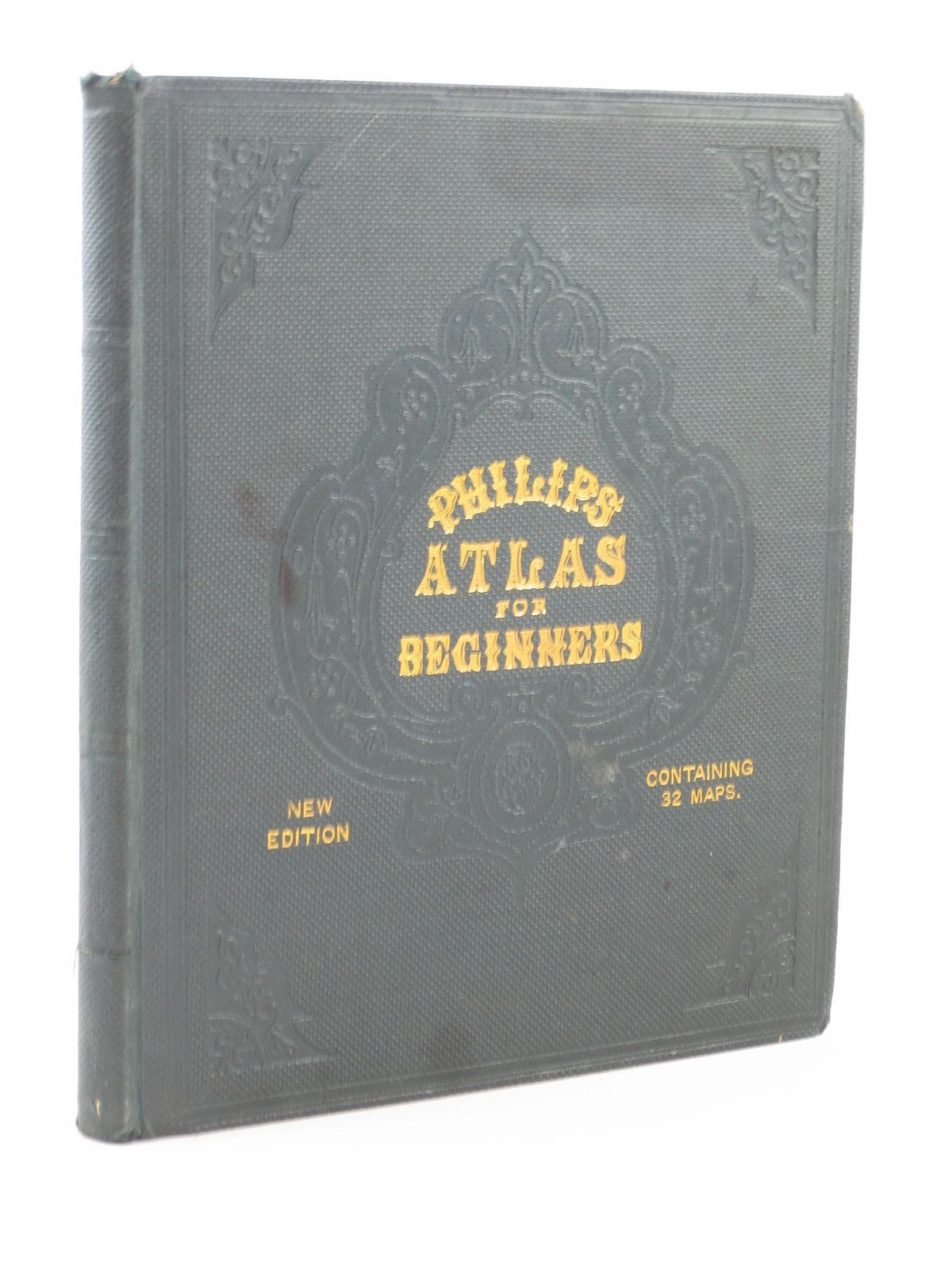 Photo of PHILIPS ATLAS FOR BEGINNERS written by Hughes, William published by George Philip & Son (STOCK CODE: 1402323)  for sale by Stella & Rose's Books