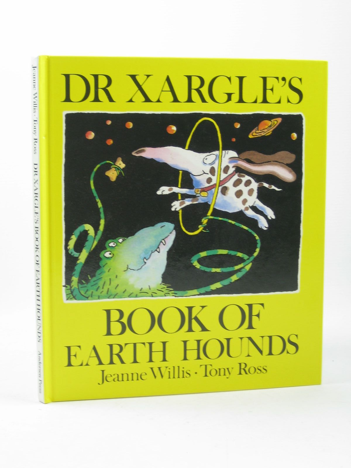 Photo of DR XARGLE'S BOOK OF EARTH HOUNDS written by Willis, Jeanne illustrated by Ross, Tony published by Andersen Press (STOCK CODE: 1402378)  for sale by Stella & Rose's Books