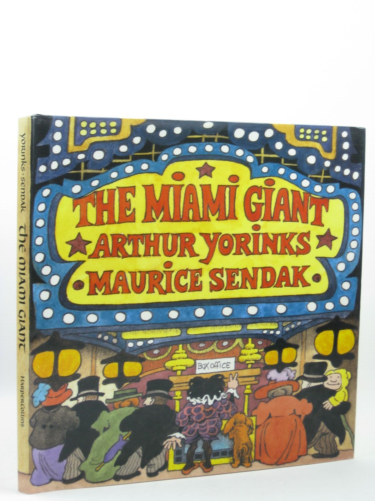 Photo of THE MIAMI GIANT written by Yorinks, Arthur illustrated by Sendak, Maurice published by Harper Collins (STOCK CODE: 1402395)  for sale by Stella & Rose's Books