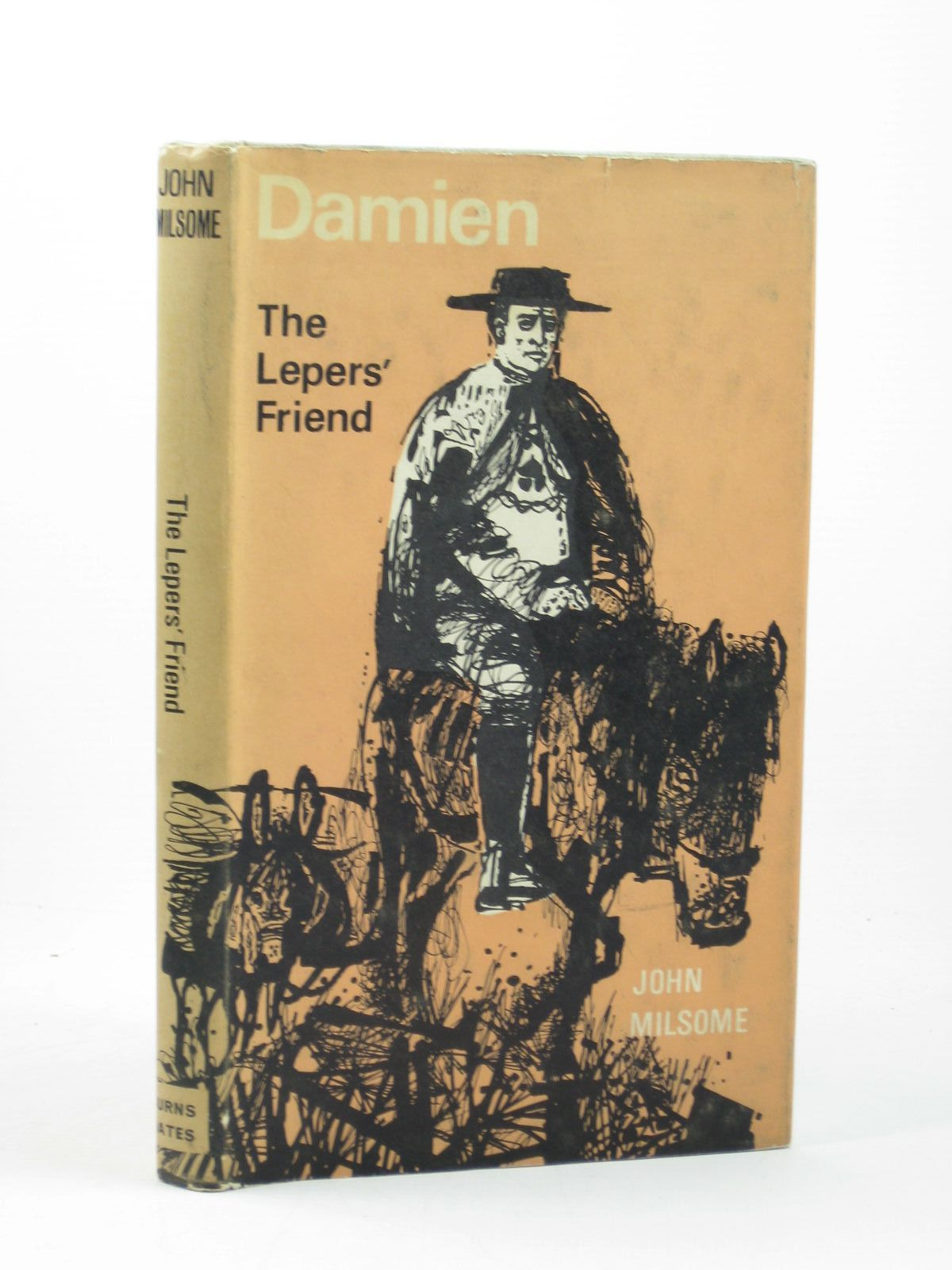 Photo of DAMIEN, THE LEPERS' FRIEND written by Milsome, John R. illustrated by Keeping, Charles published by Burns & Oates (STOCK CODE: 1402418)  for sale by Stella & Rose's Books
