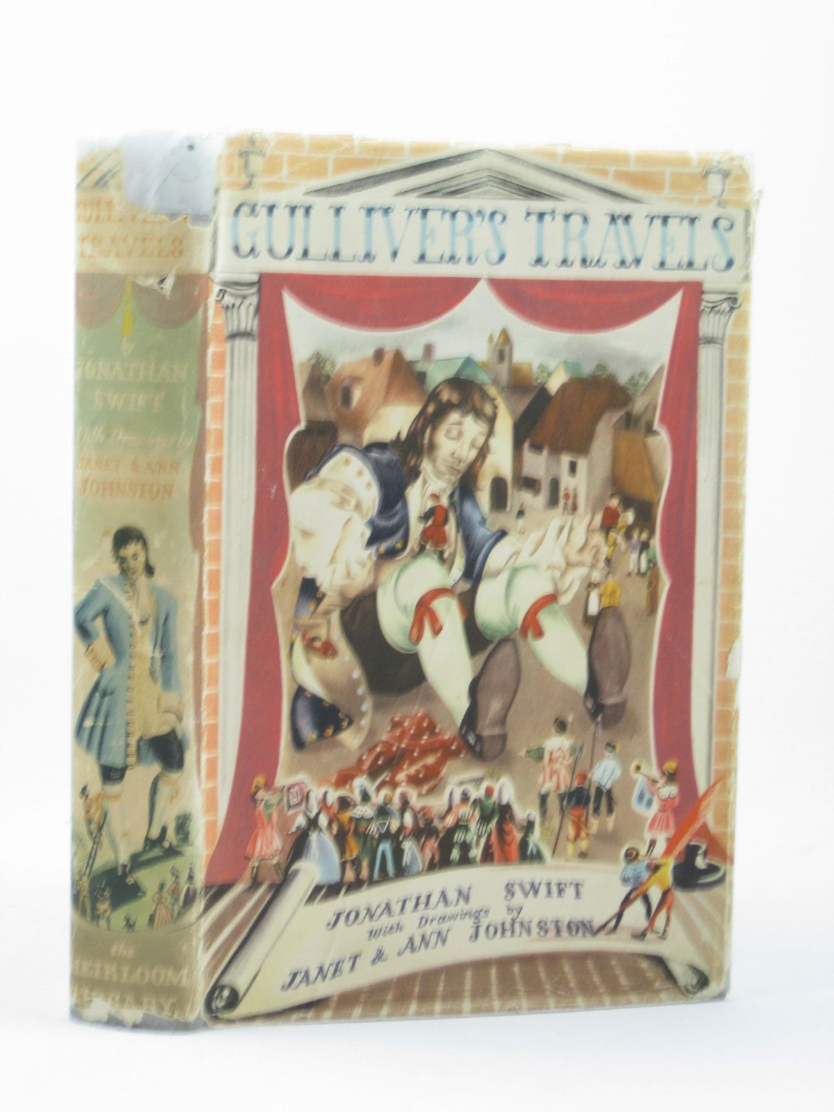 Photo of GULLIVER'S TRAVELS written by Swift, Jonathan illustrated by Johnstone, Janet Grahame<br />Johnstone, Anne Grahame published by The Heirloom Library (STOCK CODE: 1402419)  for sale by Stella & Rose's Books