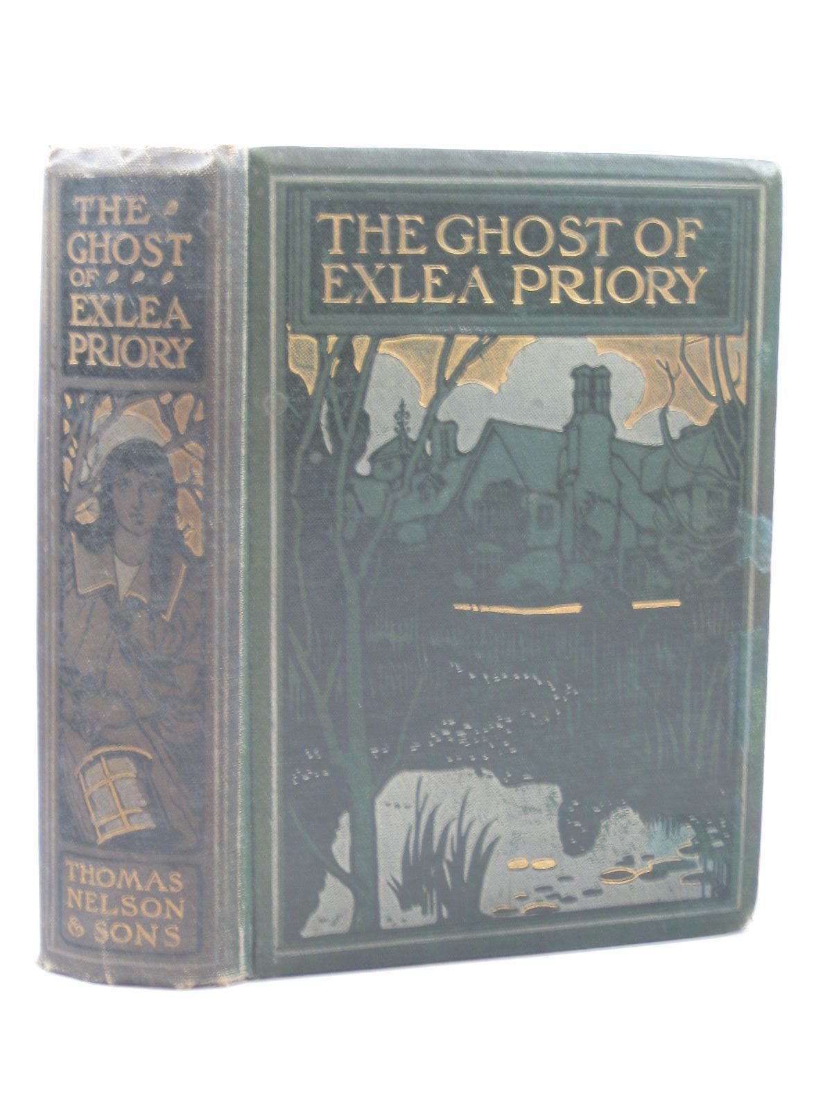 Photo of THE GHOST OF EXLEA PRIORY written by Haverfield, E.L. illustrated by Tenison, N. published by Thomas Nelson and Sons Ltd. (STOCK CODE: 1402454)  for sale by Stella & Rose's Books