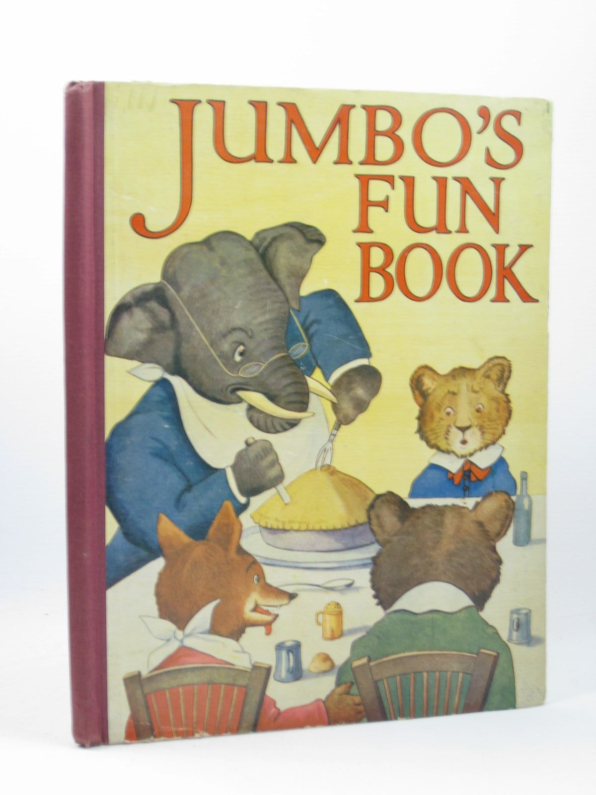 Photo of JUMBO'S FUN BOOK written by Bingham, Clifton illustrated by Neilson, Harry B. published by Blackie And Son Limited (STOCK CODE: 1402463)  for sale by Stella & Rose's Books