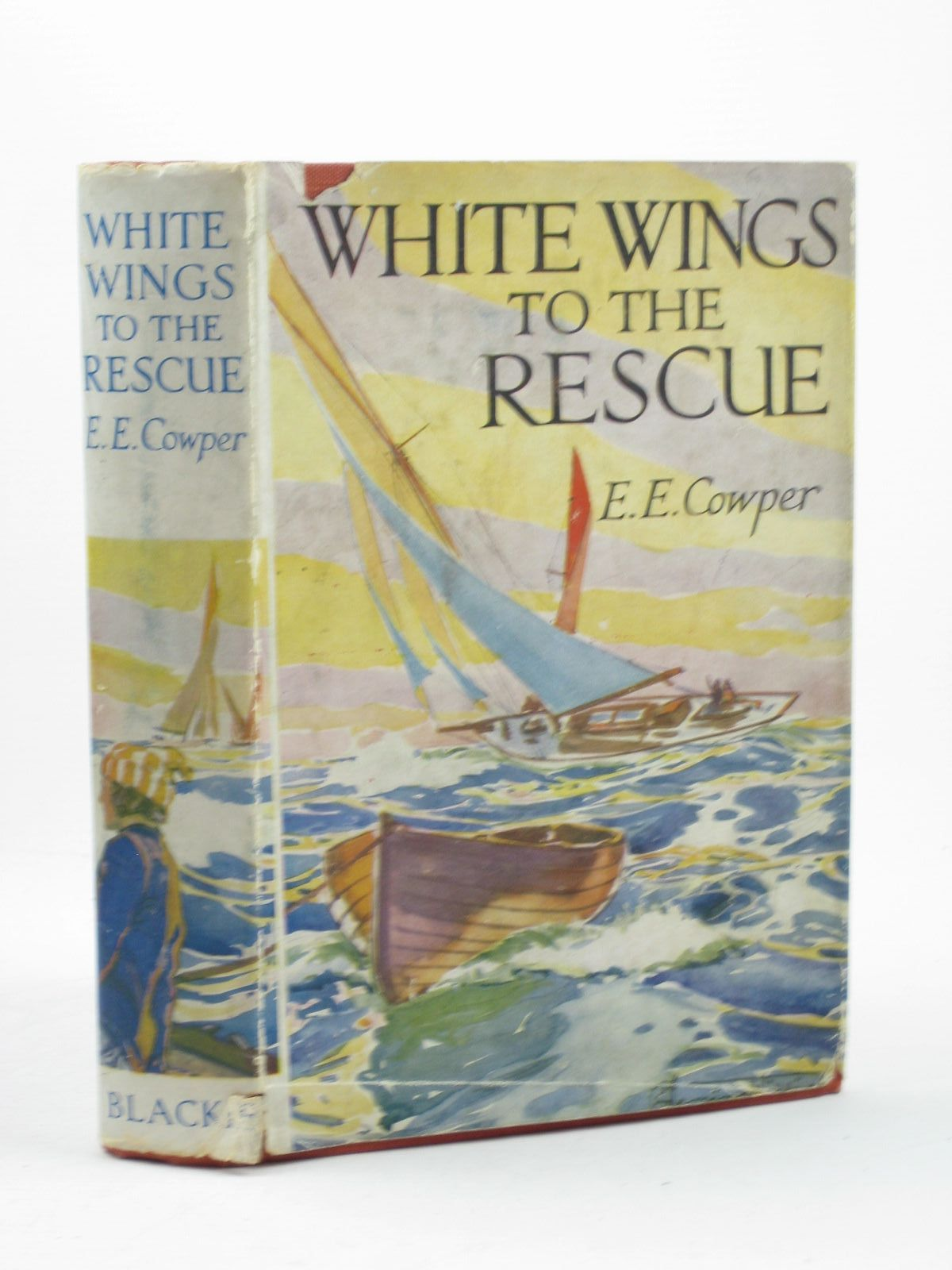Photo of WHITE WINGS TO THE RESCUE written by Cowper, E.E. illustrated by Williams, C. Fleming published by Blackie (STOCK CODE: 1402552)  for sale by Stella & Rose's Books