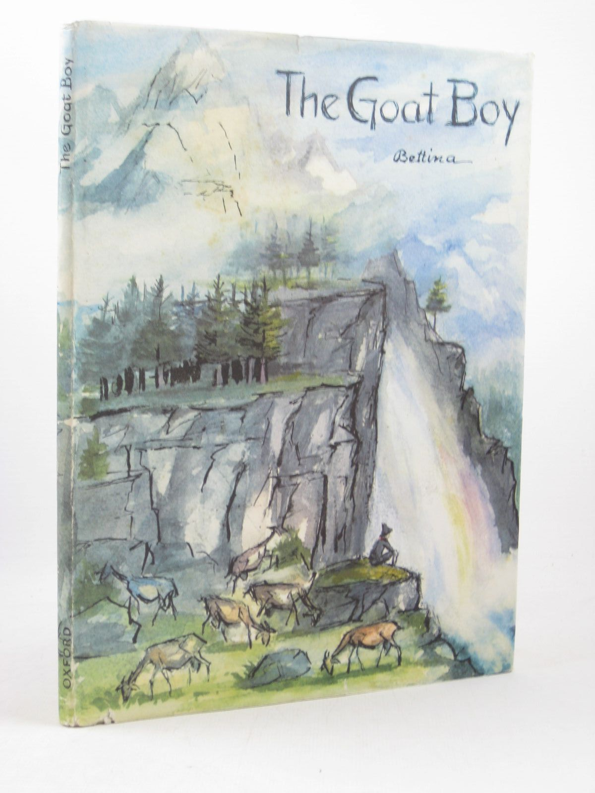 Photo of THE GOAT BOY written by Bettina, illustrated by Bettina, published by Oxford University Press (STOCK CODE: 1402584)  for sale by Stella & Rose's Books