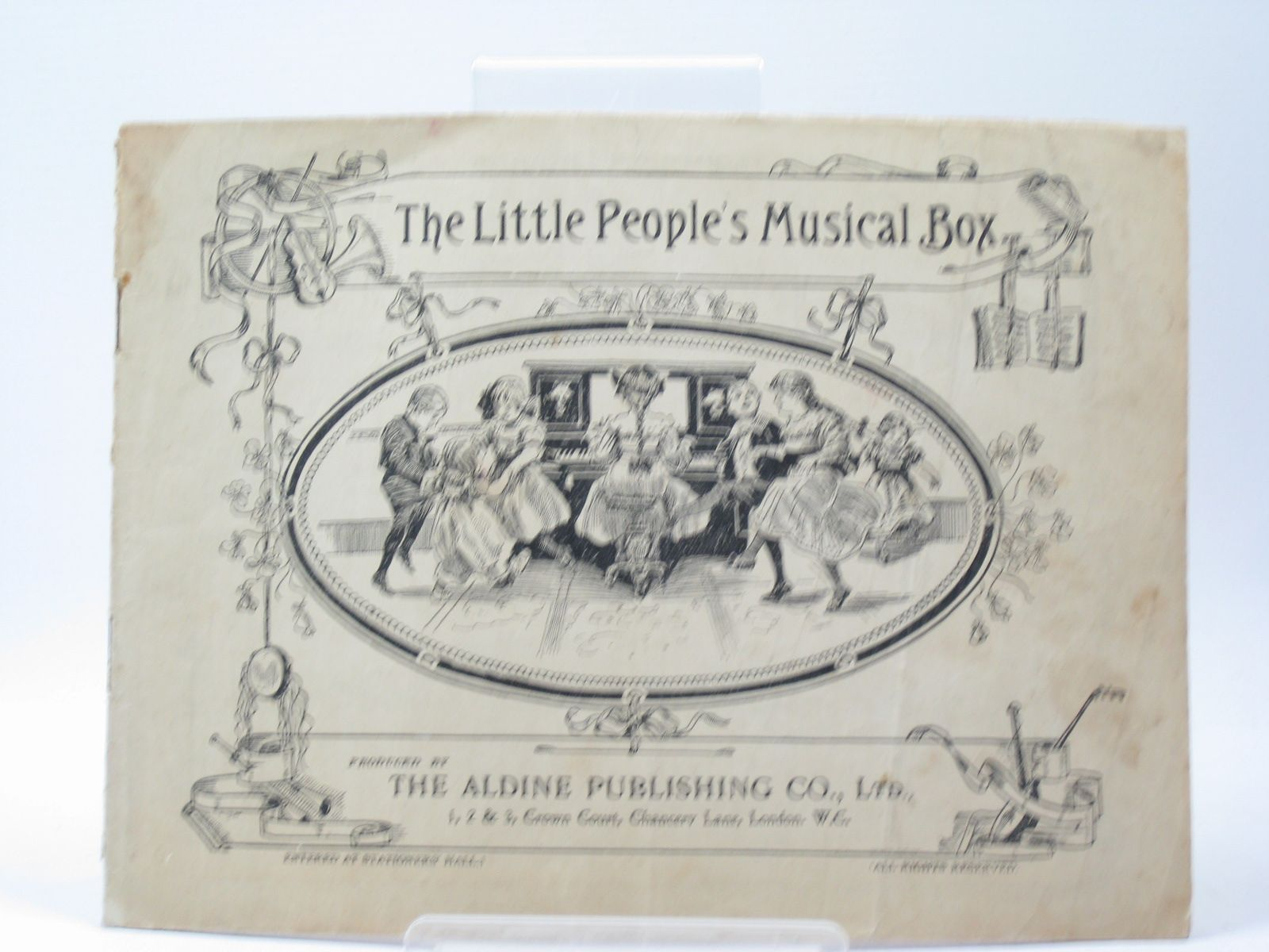 Photo of THE LITTLE PEOPLE'S MUSICAL BOX published by The Aldine Publishing Co. Ltd. (STOCK CODE: 1402687)  for sale by Stella & Rose's Books