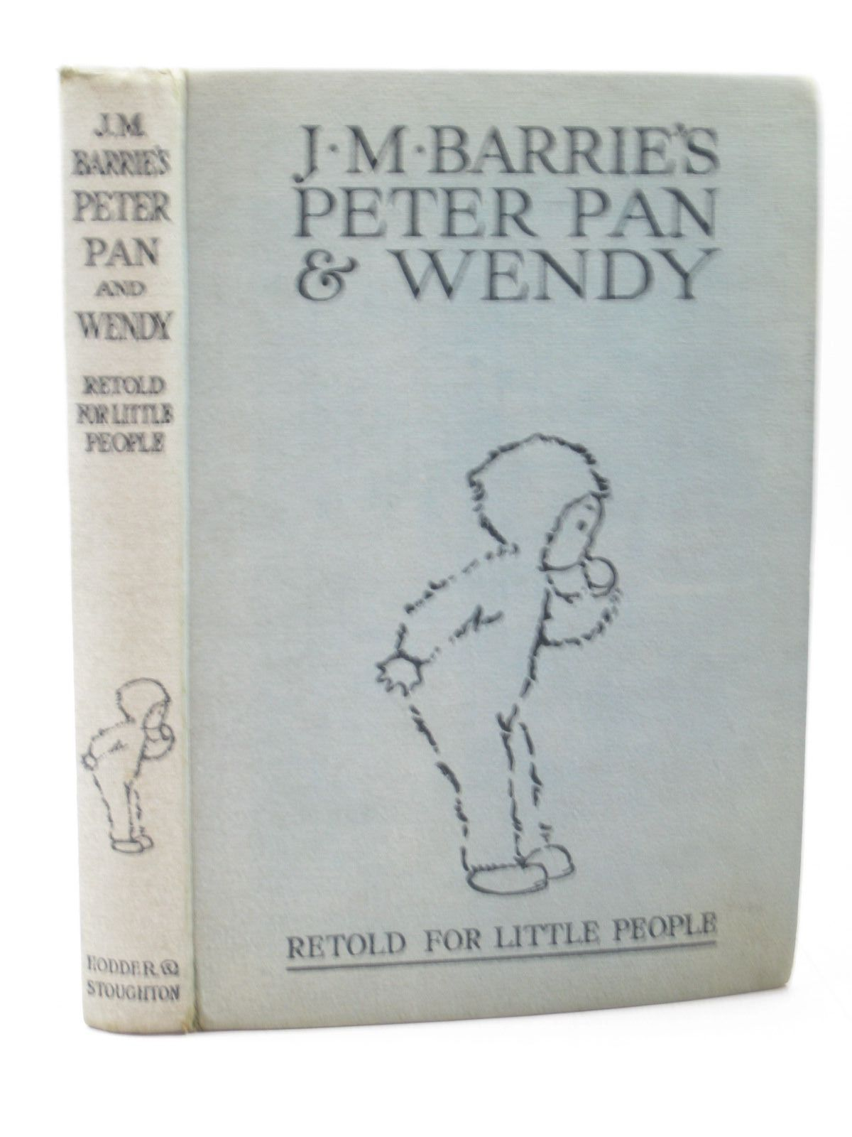 Photo of J.M. BARRIE'S PETER PAN & WENDY written by Barrie, J.M.<br />Byron, May illustrated by Attwell, Mabel Lucie published by Hodder & Stoughton (STOCK CODE: 1402746)  for sale by Stella & Rose's Books