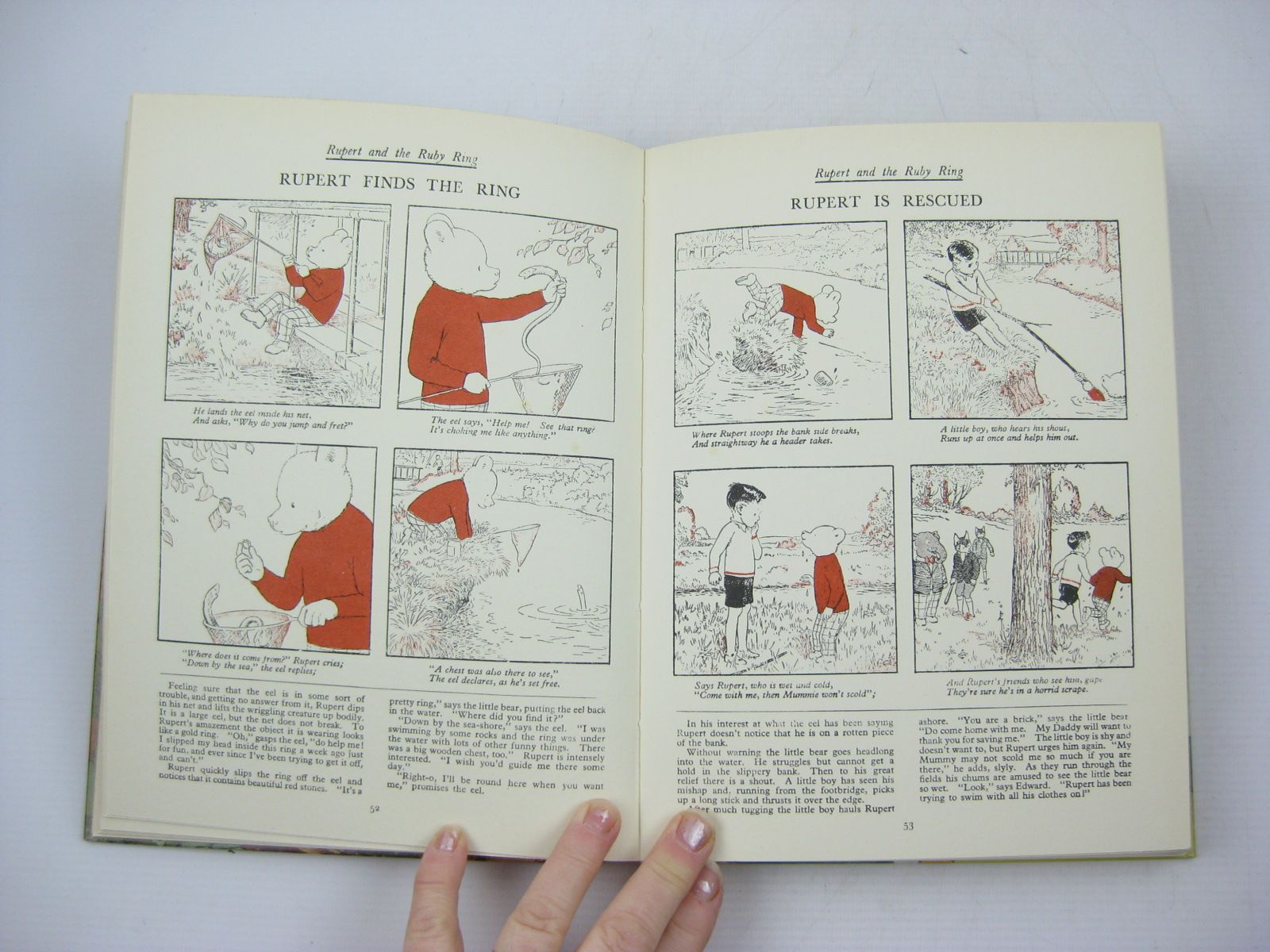 Photo of RUPERT ANNUAL 1938 (FACSIMILE) - THE NEW RUPERT BOOK written by Bestall, Alfred illustrated by Bestall, Alfred published by Daily Express (STOCK CODE: 1402893)  for sale by Stella & Rose's Books