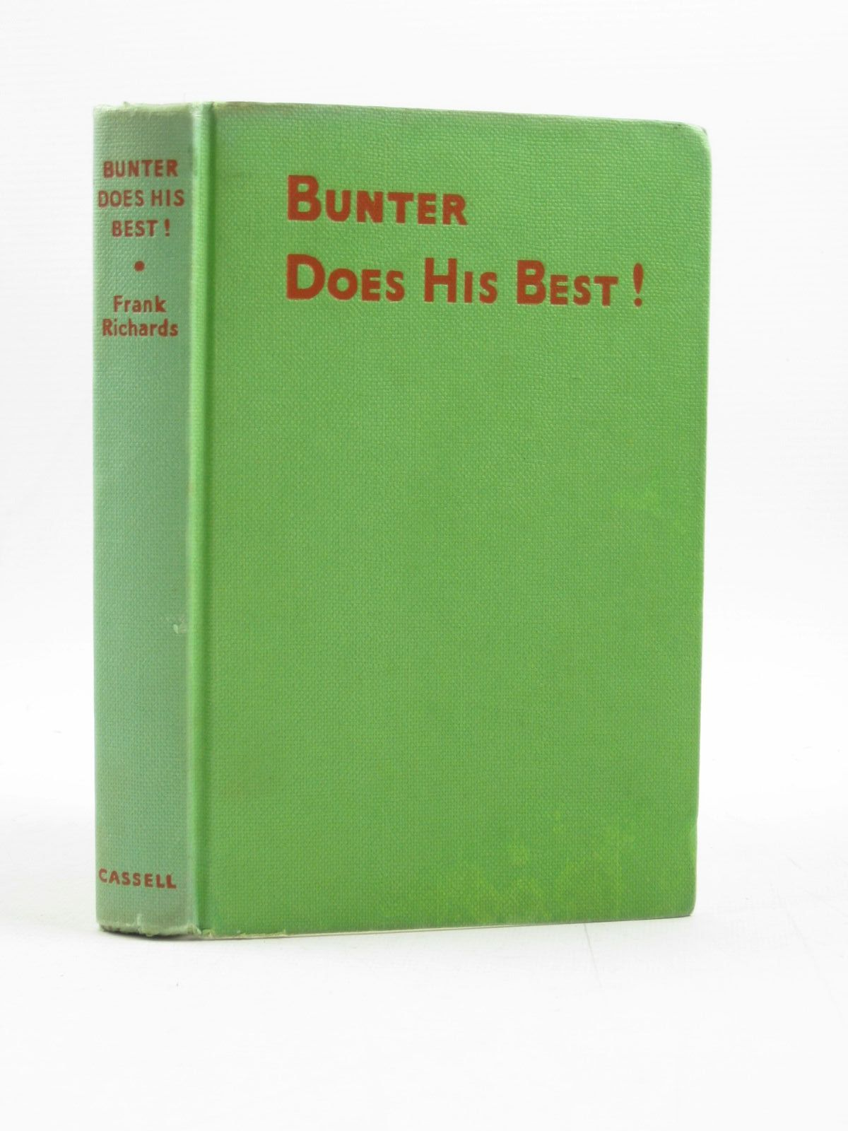 Photo of BUNTER DOES HIS BEST