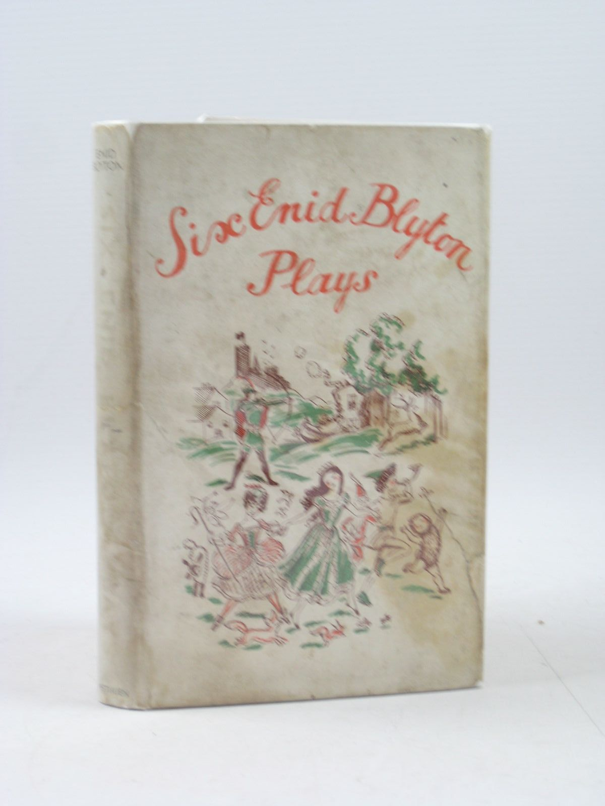 Photo of SIX ENID BLYTON PLAYS written by Blyton, Enid published by Methuen & Co. Ltd. (STOCK CODE: 1403119)  for sale by Stella & Rose's Books