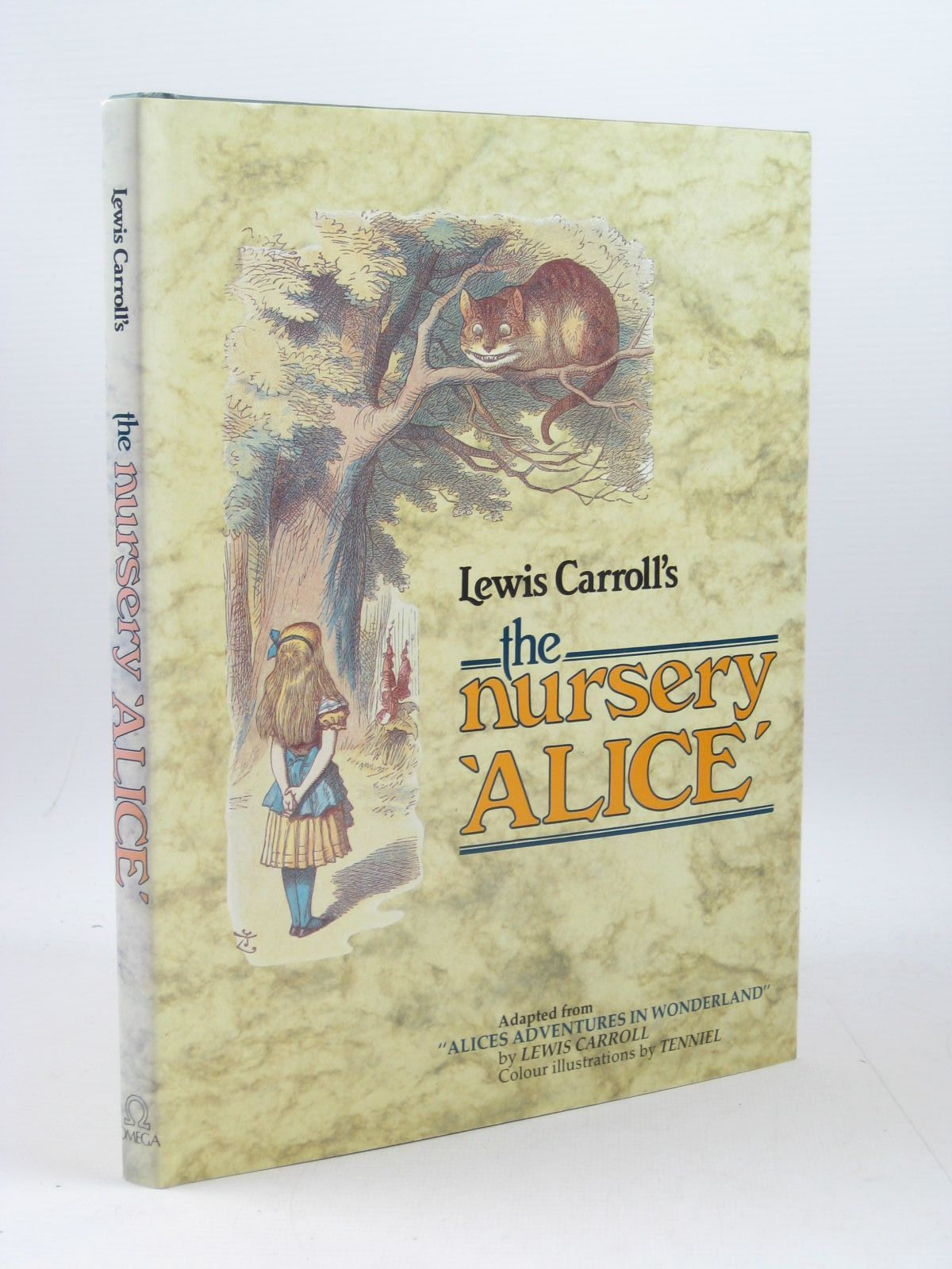 Photo of THE NURSERY ALICE written by Carroll, Lewis illustrated by Tenniel, John published by Omega Books (STOCK CODE: 1403158)  for sale by Stella & Rose's Books