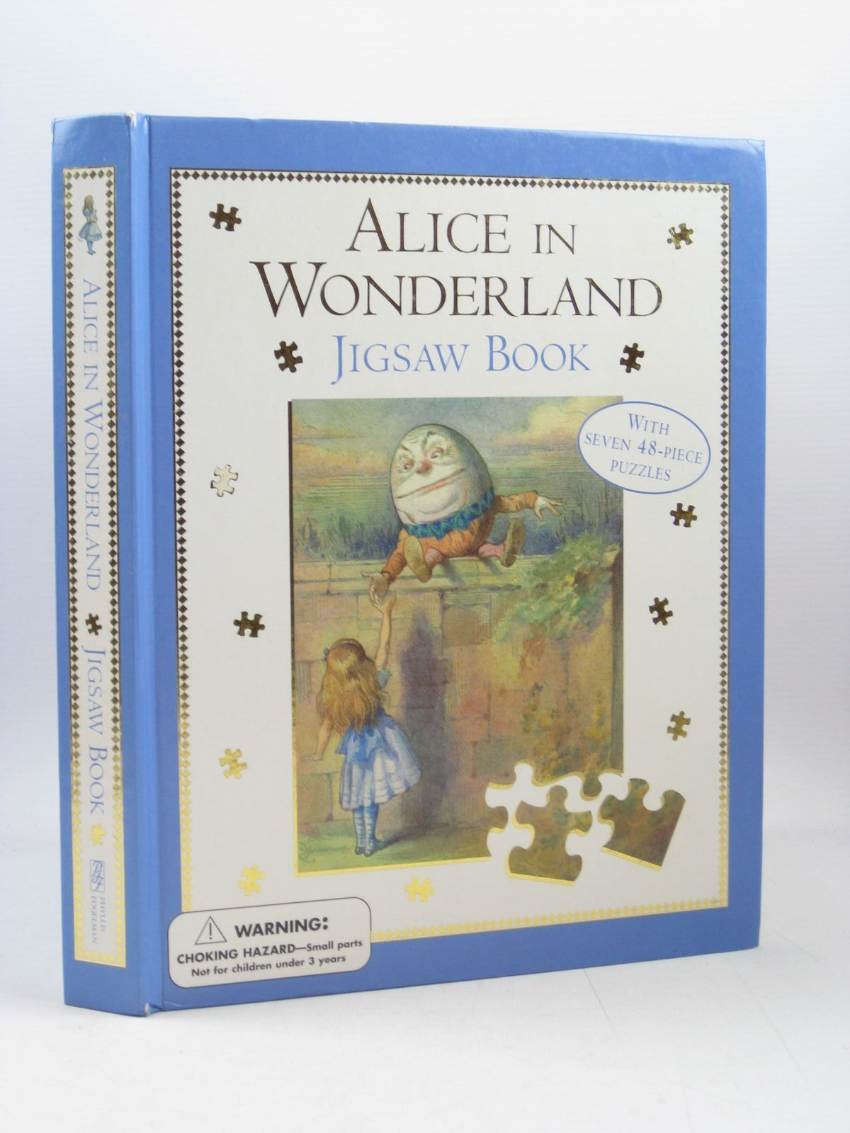Photo of ALICE IN WONDERLAND JIGSAW BOOK written by Carroll, Lewis illustrated by Tenniel, John<br />Theaker, Harry<br />Wallis, Diz published by Phyllis Fogelman Books (STOCK CODE: 1403162)  for sale by Stella & Rose's Books