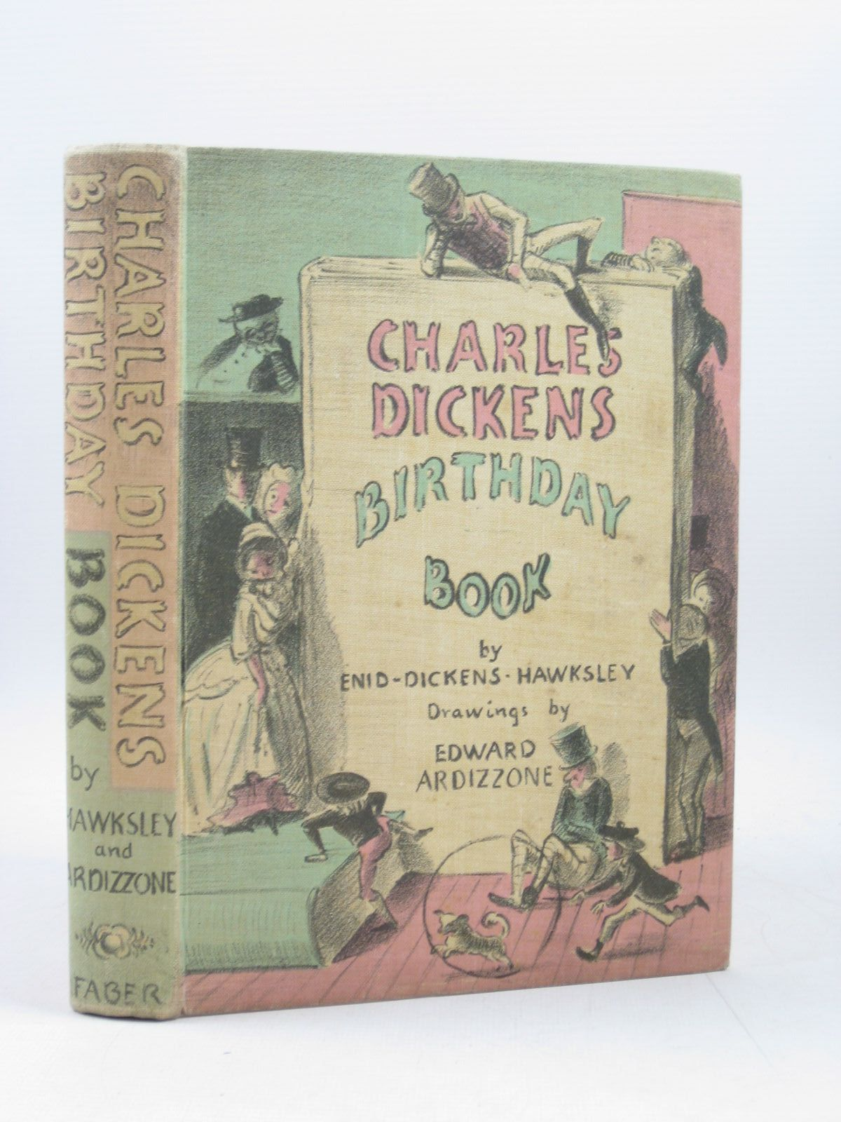 Photo of CHARLES DICKENS BIRTHDAY BOOK written by Dickens, Charles<br />Hawksley, Enid Dickens illustrated by Ardizzone, Edward published by Faber & Faber (STOCK CODE: 1403225)  for sale by Stella & Rose's Books