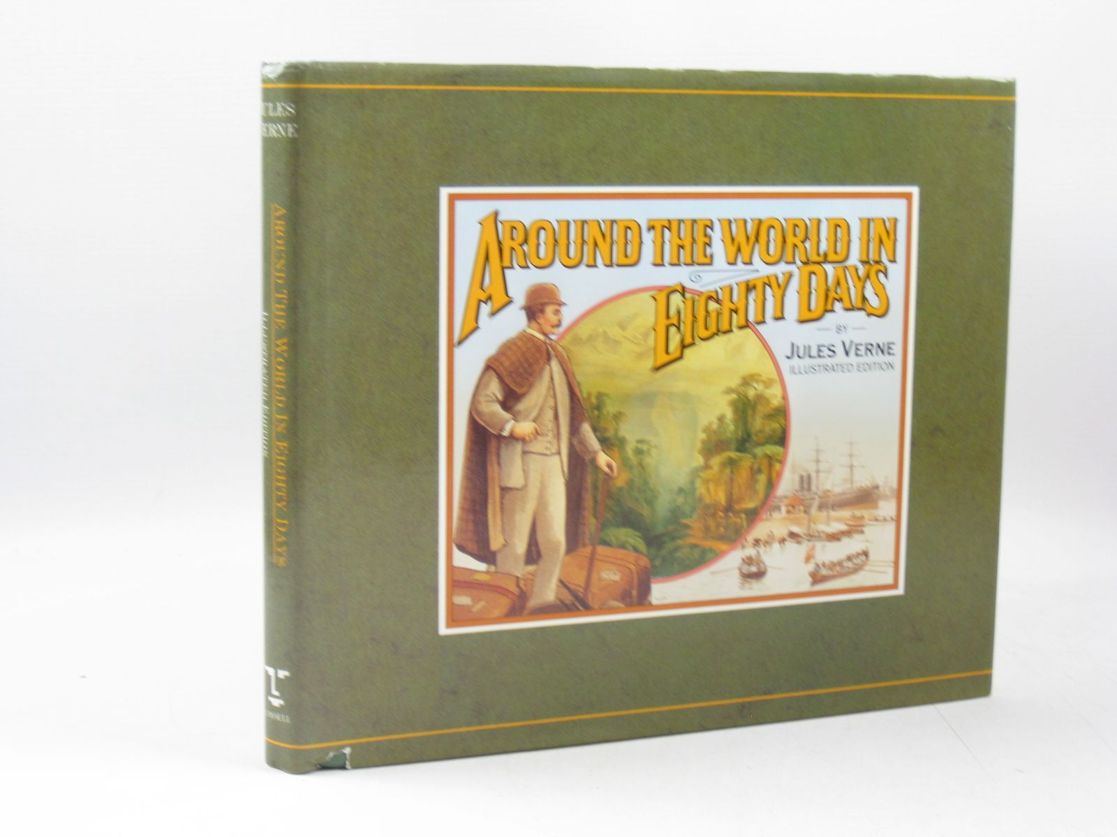 Photo of AROUND THE WORLD IN EIGHTY DAYS ILLUSTRATED EDITION written by Verne, Jules published by Cassell (STOCK CODE: 1403261)  for sale by Stella & Rose's Books