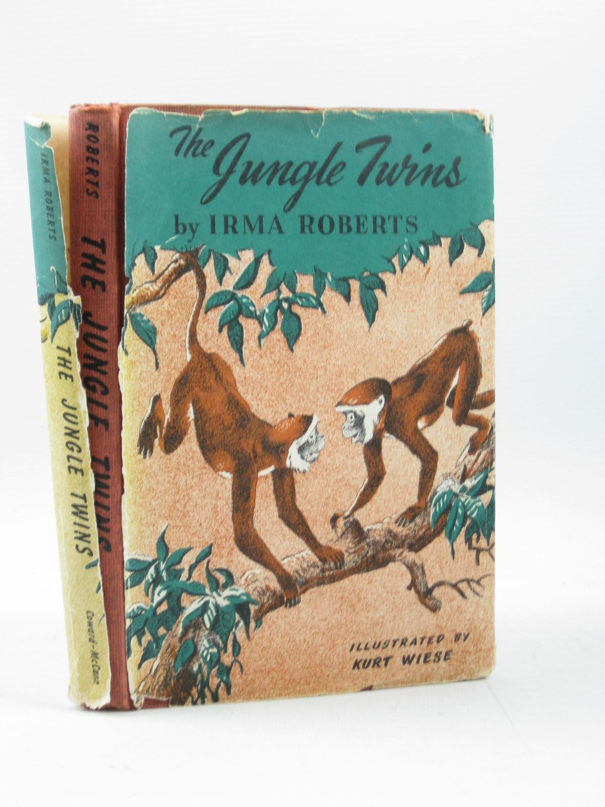 Photo of THE JUNGLE TWINS written by Roberts, Irma illustrated by Wiese, Kurt published by Coward-McCann Inc. (STOCK CODE: 1403288)  for sale by Stella & Rose's Books