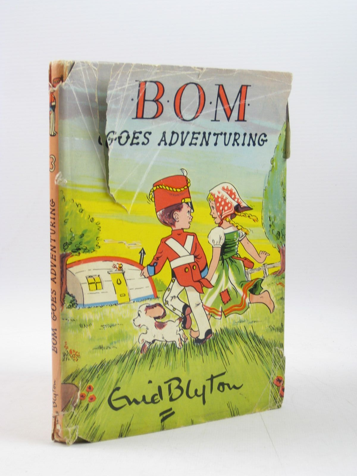 Photo of BOM GOES ADVENTURING written by Blyton, Enid illustrated by Paul-Hoye, R. published by The Brockhampton Press Ltd. (STOCK CODE: 1403320)  for sale by Stella & Rose's Books