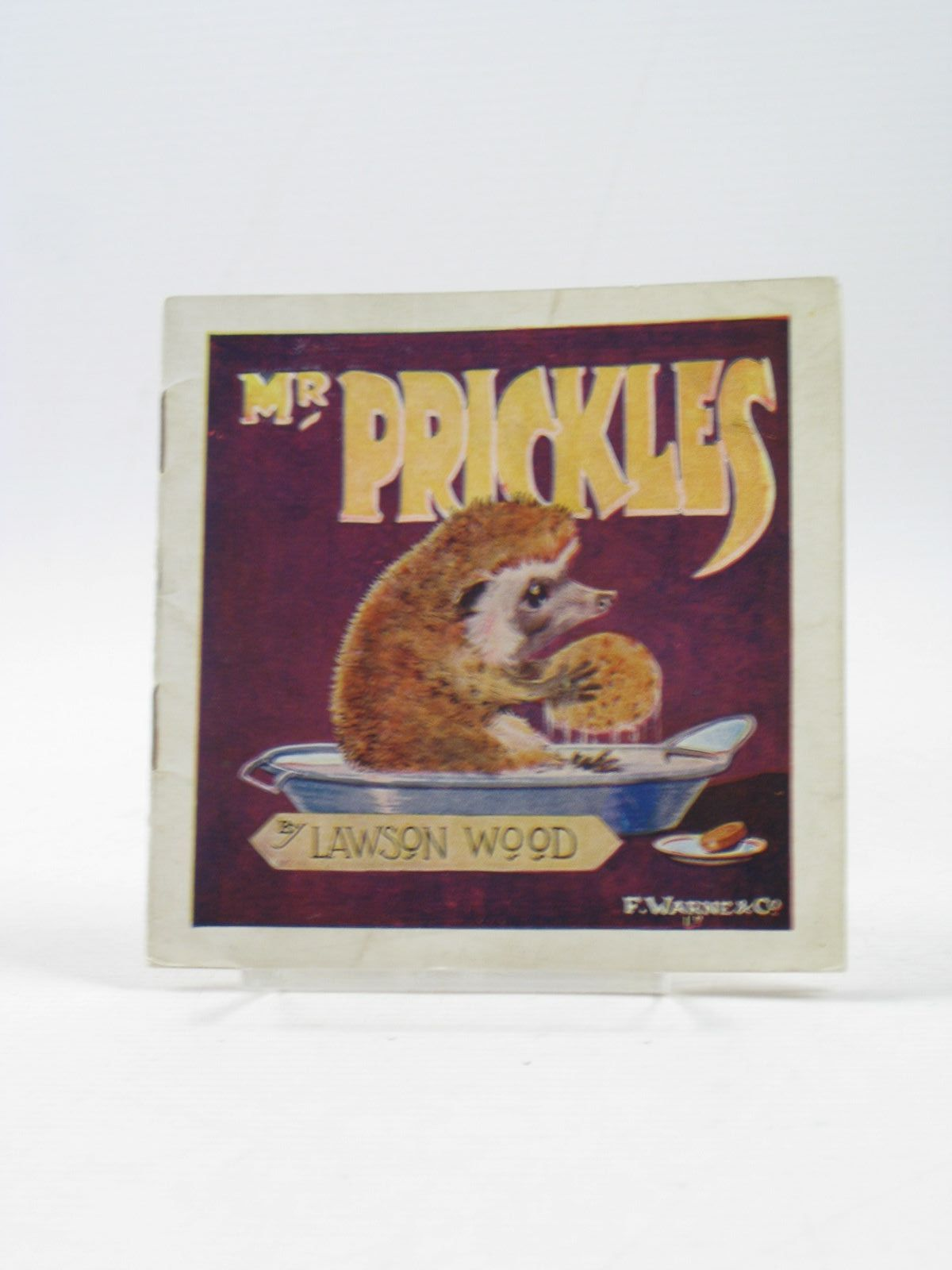 Photo of MR. PRICKLES HOW HE GOT LOST written by Wood, Lawson illustrated by Wood, Lawson published by Frederick Warne & Co. (STOCK CODE: 1403366)  for sale by Stella & Rose's Books