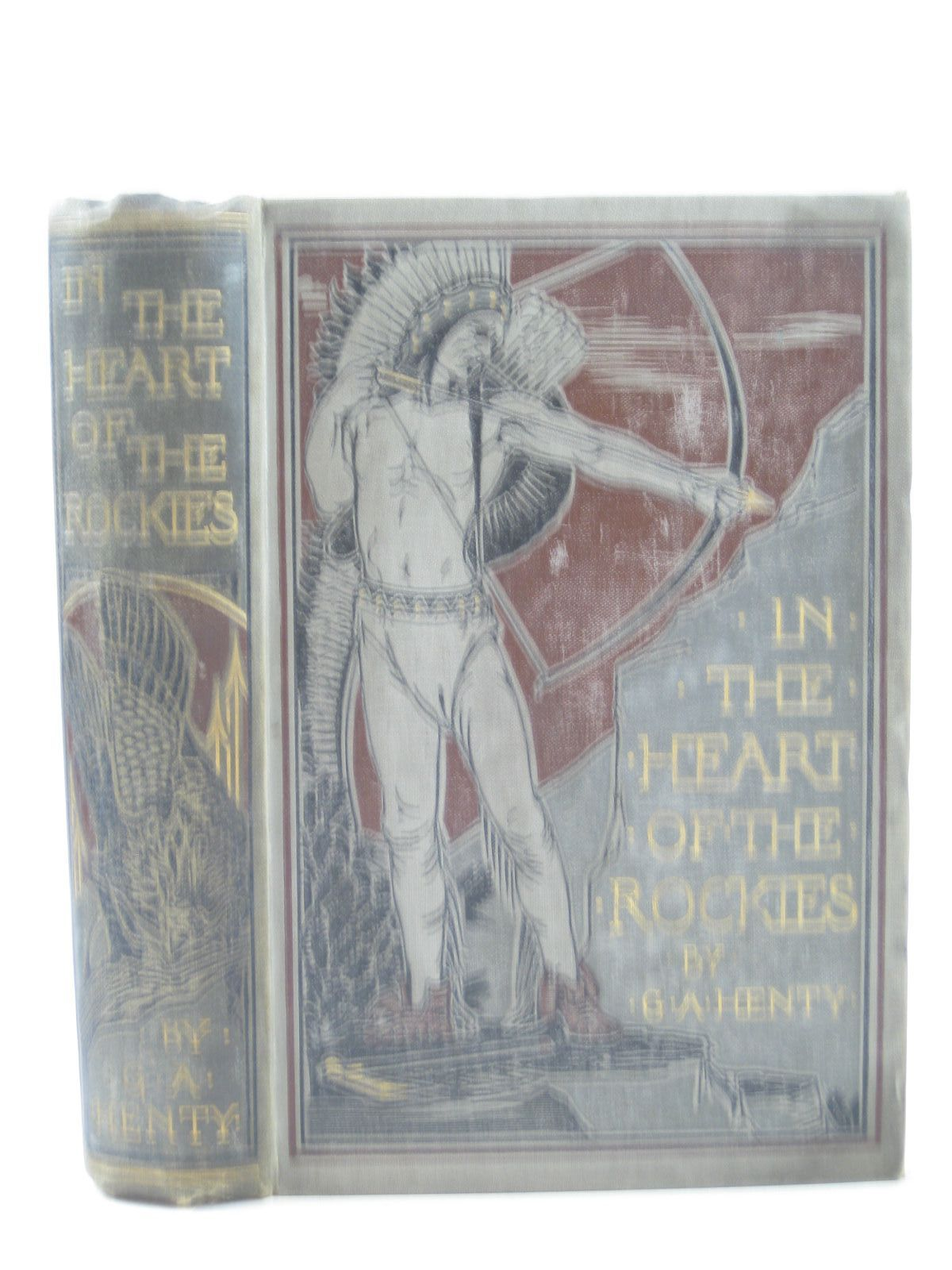 Photo of IN THE HEART OF THE ROCKIES written by Henty, G.A. illustrated by Hindley, Godfrey C. published by Blackie & Son Ltd. (STOCK CODE: 1403482)  for sale by Stella & Rose's Books