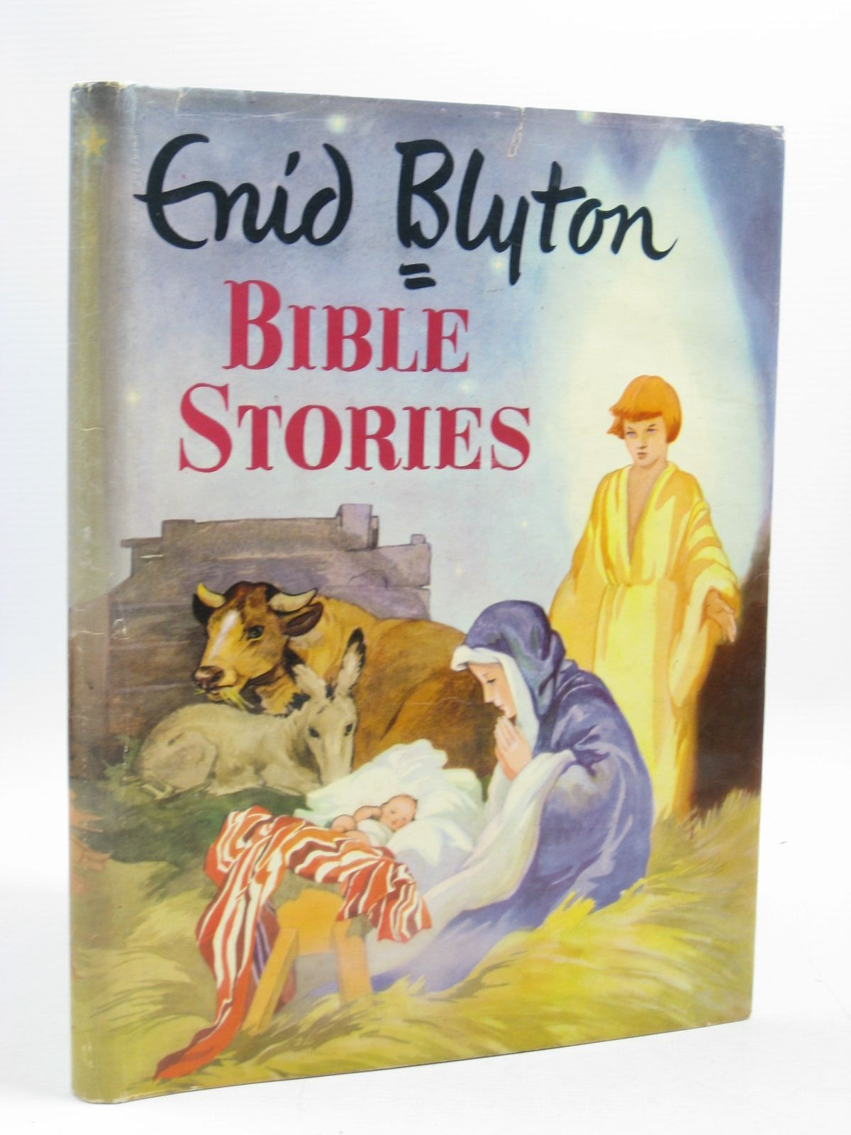 Photo of BIBLE STORIES written by Blyton, Enid illustrated by Lodge, Grace published by Frederick Muller Ltd. (STOCK CODE: 1403590)  for sale by Stella & Rose's Books