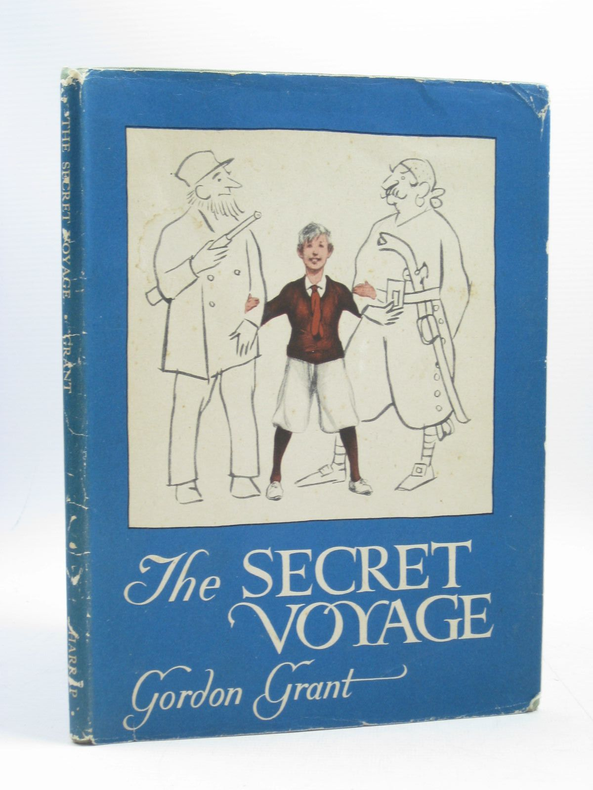Photo of THE SECRET VOYAGE written by Grant, Gordon published by George Harrap & Co (STOCK CODE: 1403726)  for sale by Stella & Rose's Books
