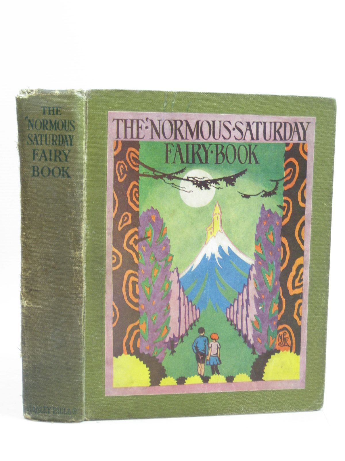 Photo of THE 'NORMOUS SATURDAY FAIRY BOOK written by Royce, Marjory<br />Mieghn, Moira<br />Todd, Barbara Euphan illustrated by Stampa, G.L.<br />Edwards, Mary Stella published by Stanley Paul (STOCK CODE: 1403796)  for sale by Stella & Rose's Books