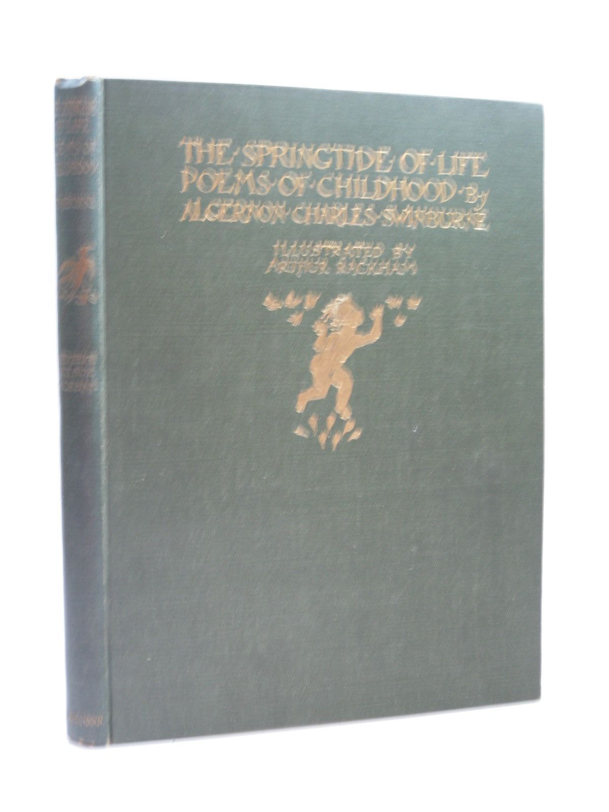 Photo of THE SPRINGTIDE OF LIFE written by Swinburne, Algernon C.<br />Gosse, Edmund illustrated by Rackham, Arthur published by William Heinemann (STOCK CODE: 1404092)  for sale by Stella & Rose's Books