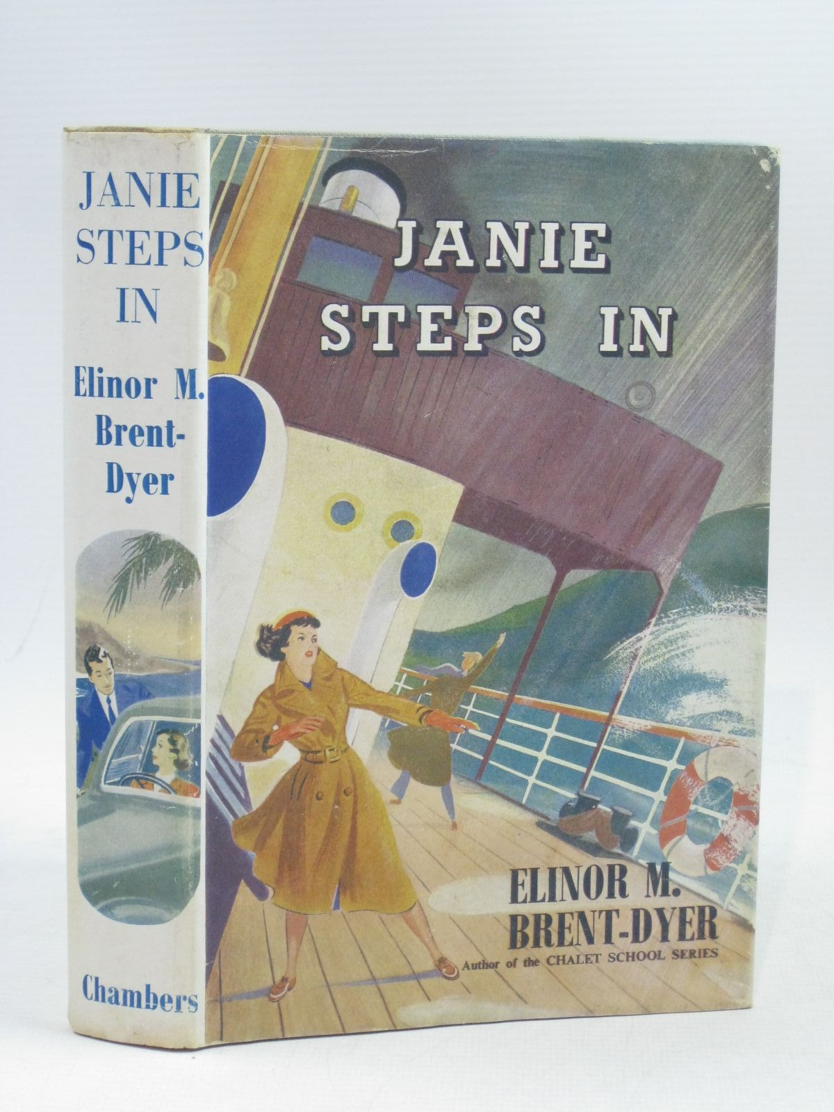 Photo of JANIE STEPS IN written by Brent-Dyer, Elinor M. published by W. & R. Chambers Limited (STOCK CODE: 1404195)  for sale by Stella & Rose's Books