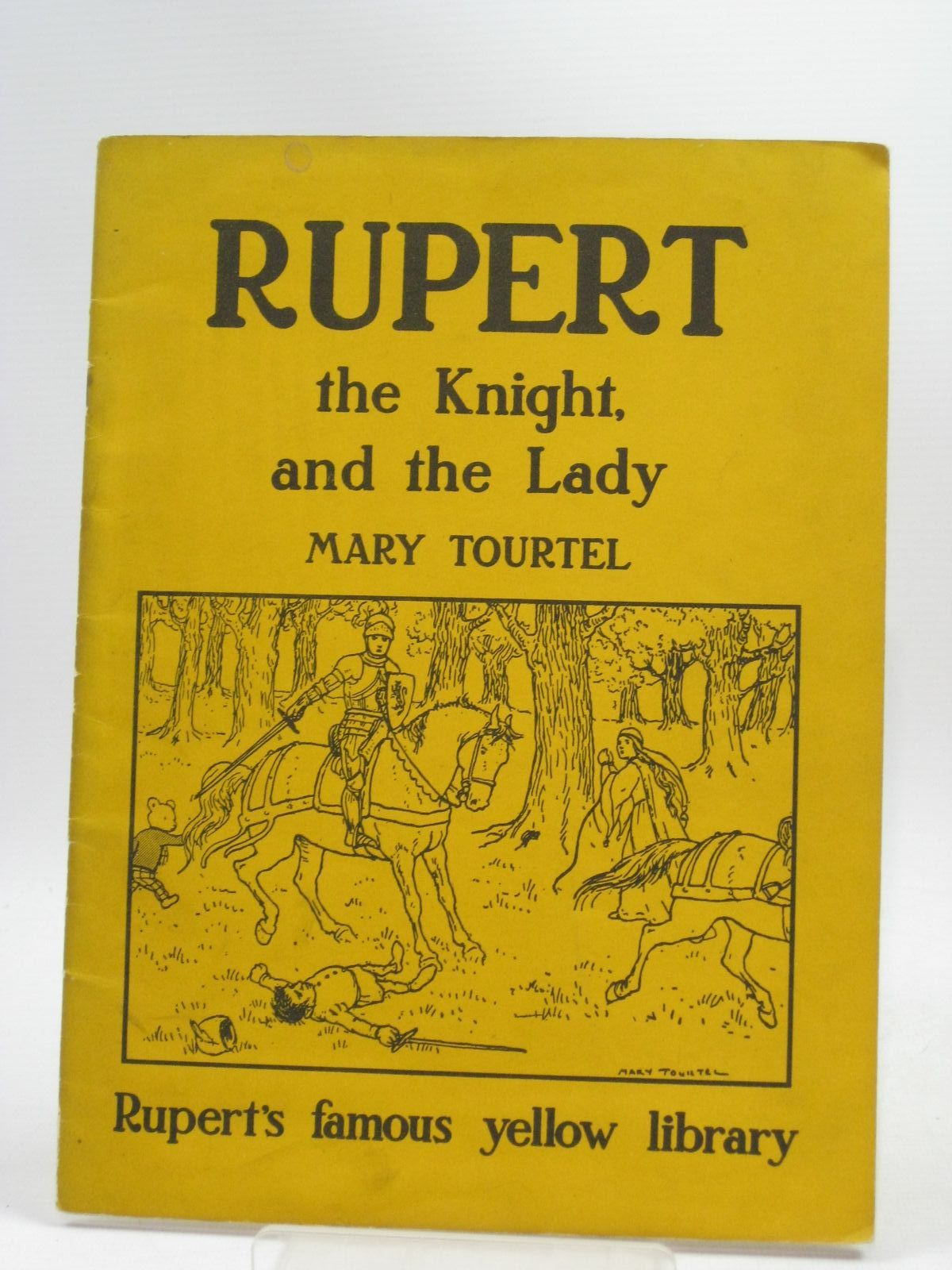 Photo of RUPERT THE KNIGHT AND THE LADY written by Tourtel, Mary published by Sampson Low, Marston & Co. Ltd. (STOCK CODE: 1404305)  for sale by Stella & Rose's Books