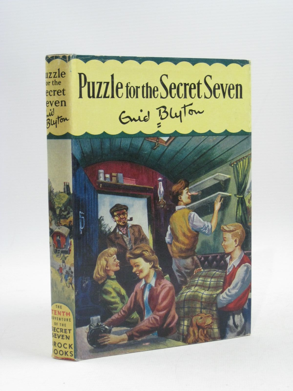 Photo of PUZZLE FOR THE SECRET SEVEN written by Blyton, Enid illustrated by Sharrocks, Burgess published by Brockhampton Press (STOCK CODE: 1404422)  for sale by Stella & Rose's Books