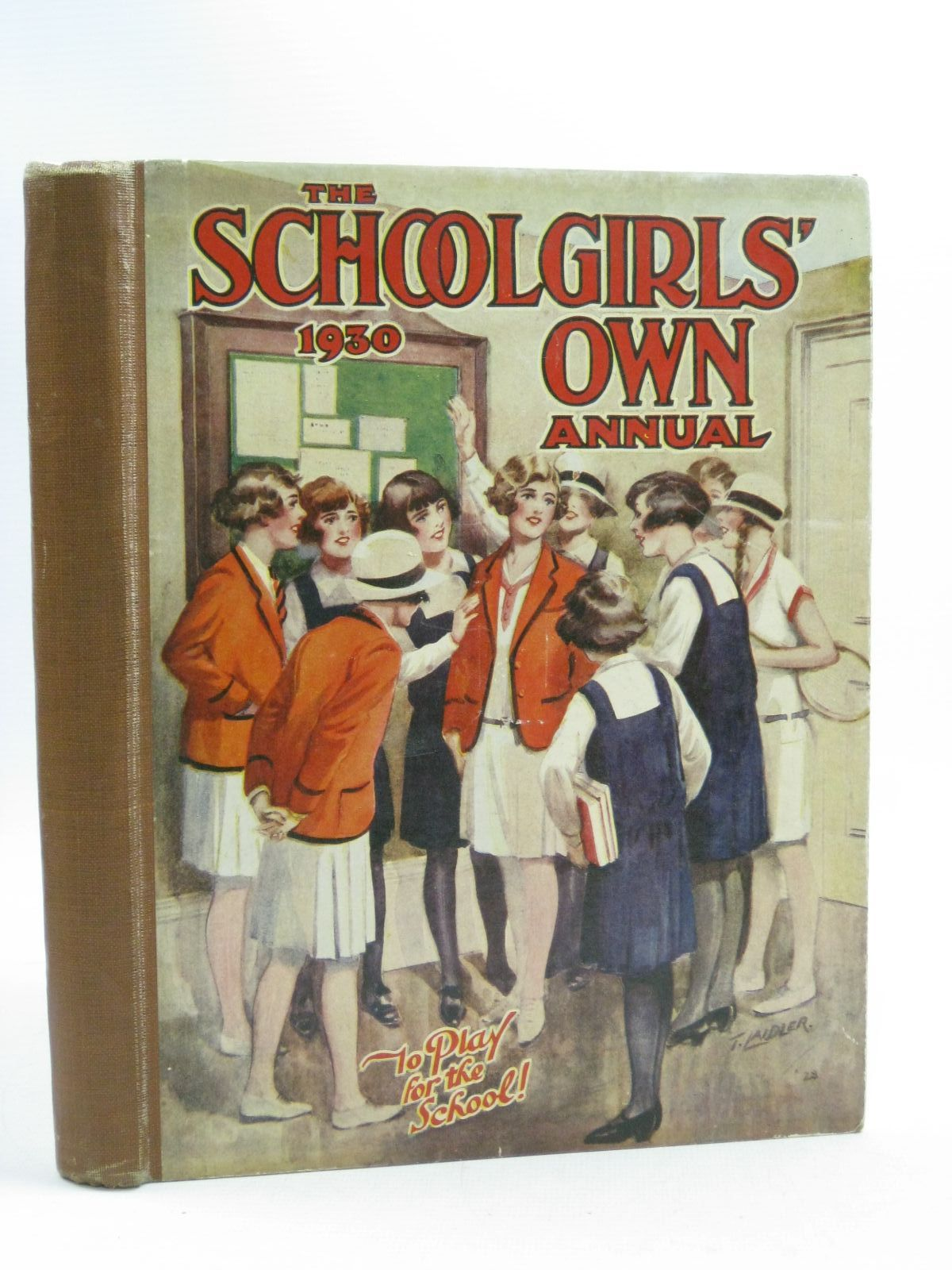 Photo of THE SCHOOLGIRLS' OWN ANNUAL 1930 published by The Fleetway House (STOCK CODE: 1404476)  for sale by Stella & Rose's Books