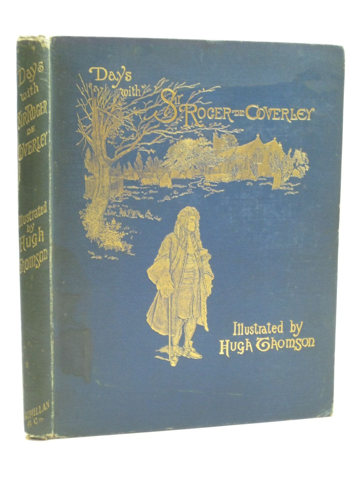 Photo of DAYS WITH SIR ROGER DE COVERLEY illustrated by Thomson, Hugh published by Macmillan & Co. (STOCK CODE: 1404564)  for sale by Stella & Rose's Books